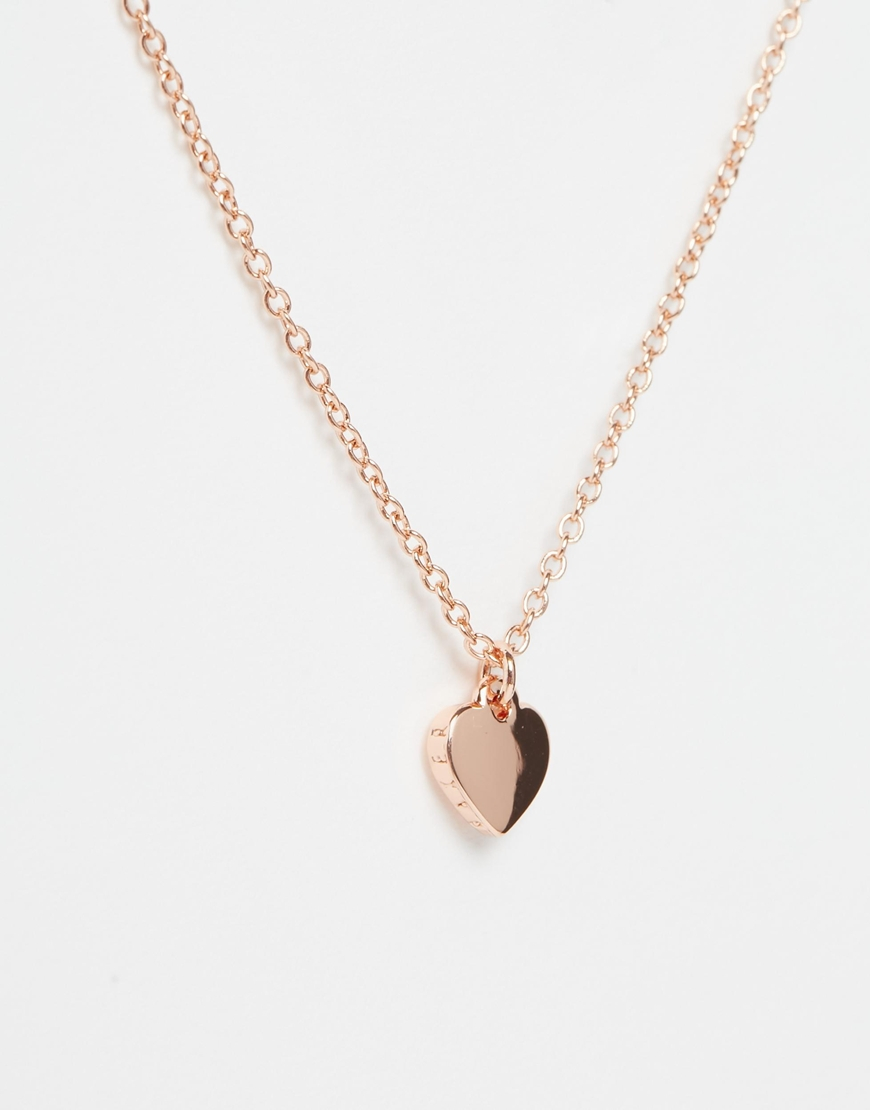 Ted Baker Heart Cluster Pendant Necklace 6uxJD