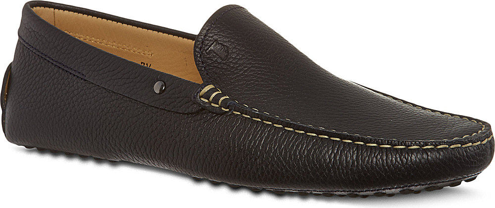 4d2116e486e Lyst - Tod s Gommino Driving Shoes In Leather in Black for Men