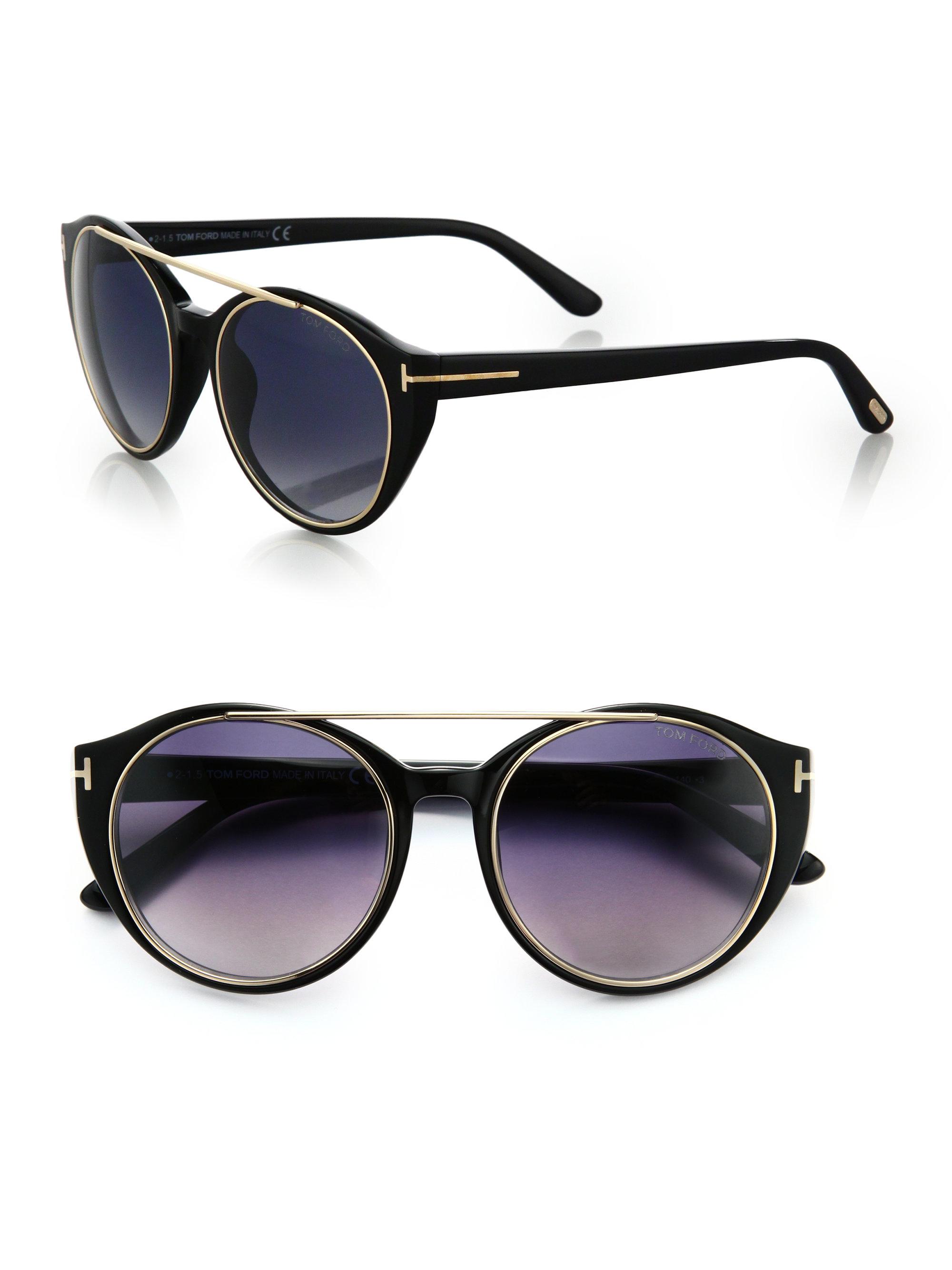 3846d91ff58 Tom Ford Emma Black CatEye Sunglasses as seen on Meghan