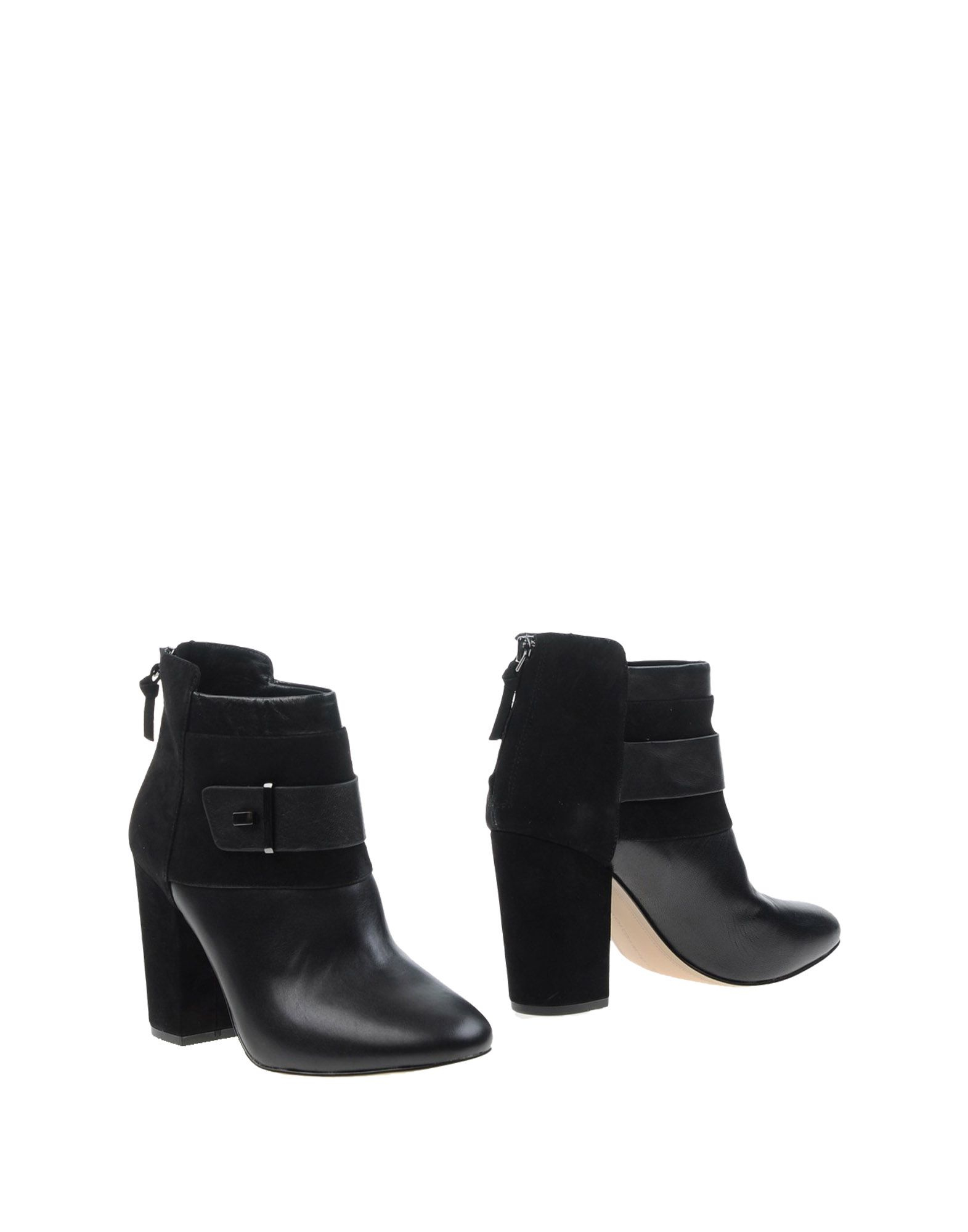 connection ankle boots in black lyst