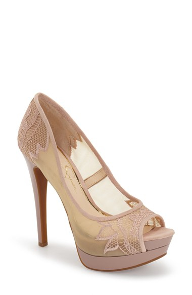 jessica simpson nude pumps - ShopStyle