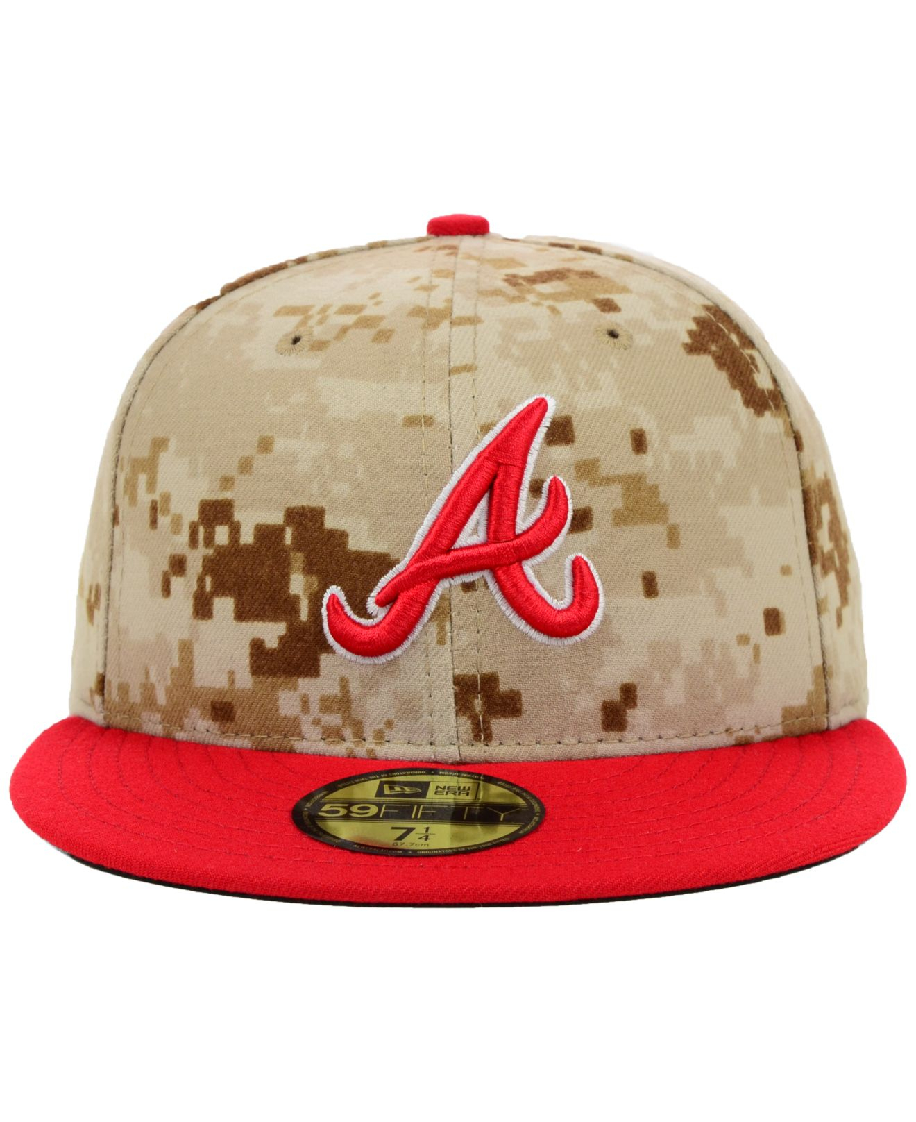 ... usa lyst ktz atlanta braves mlb 2014 memorial day stars and stripes  59fifty cap in green ce65f843cb48