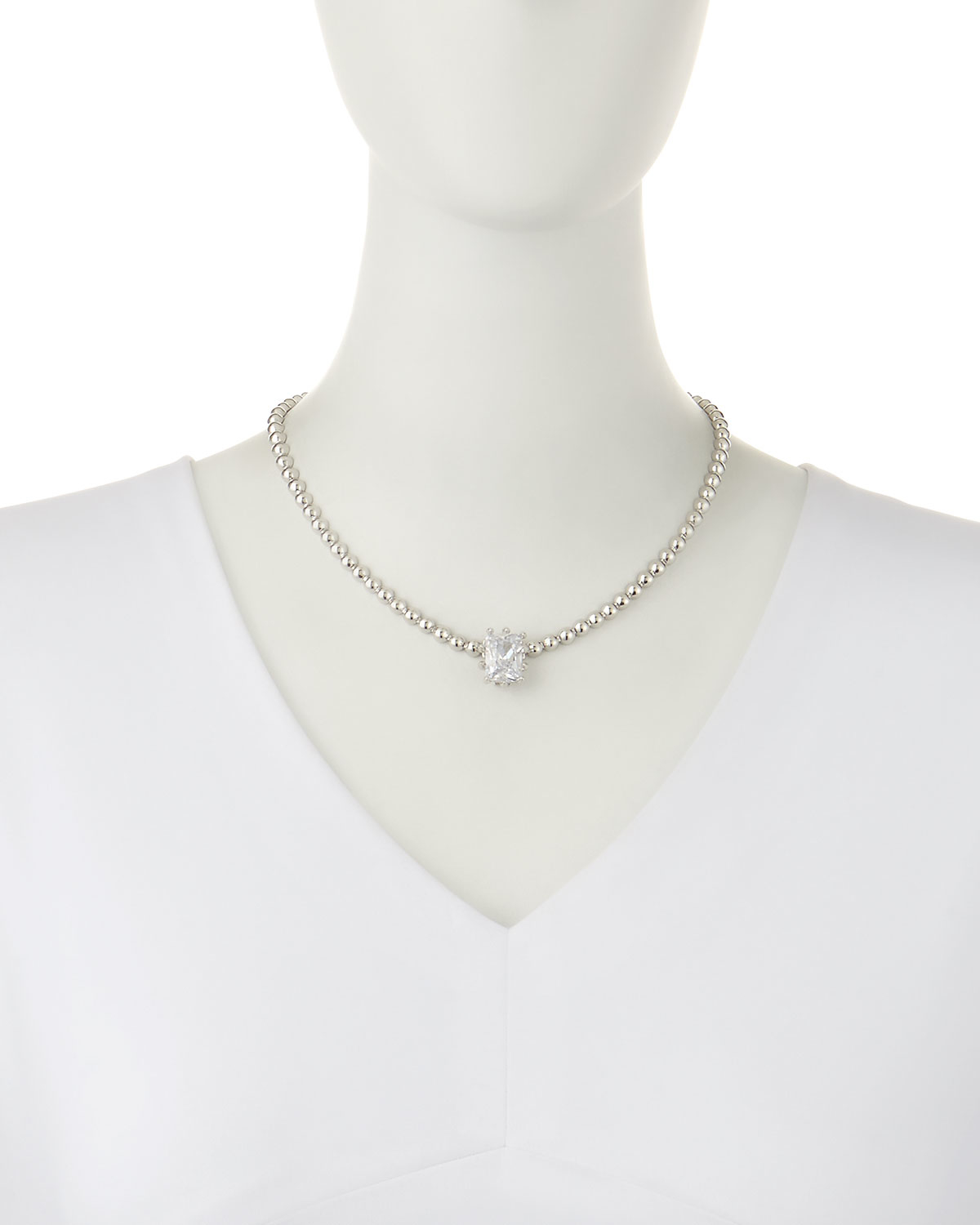 shreve necklace sapphire ceylon collection estate item