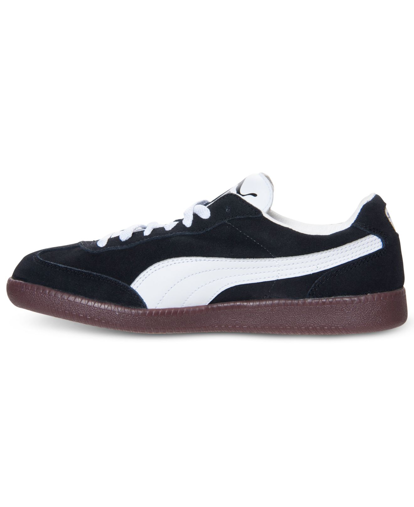 e93e585b76d6 greece lyst puma mens liga suede classic casual sneakers from finish 4f14e  21517