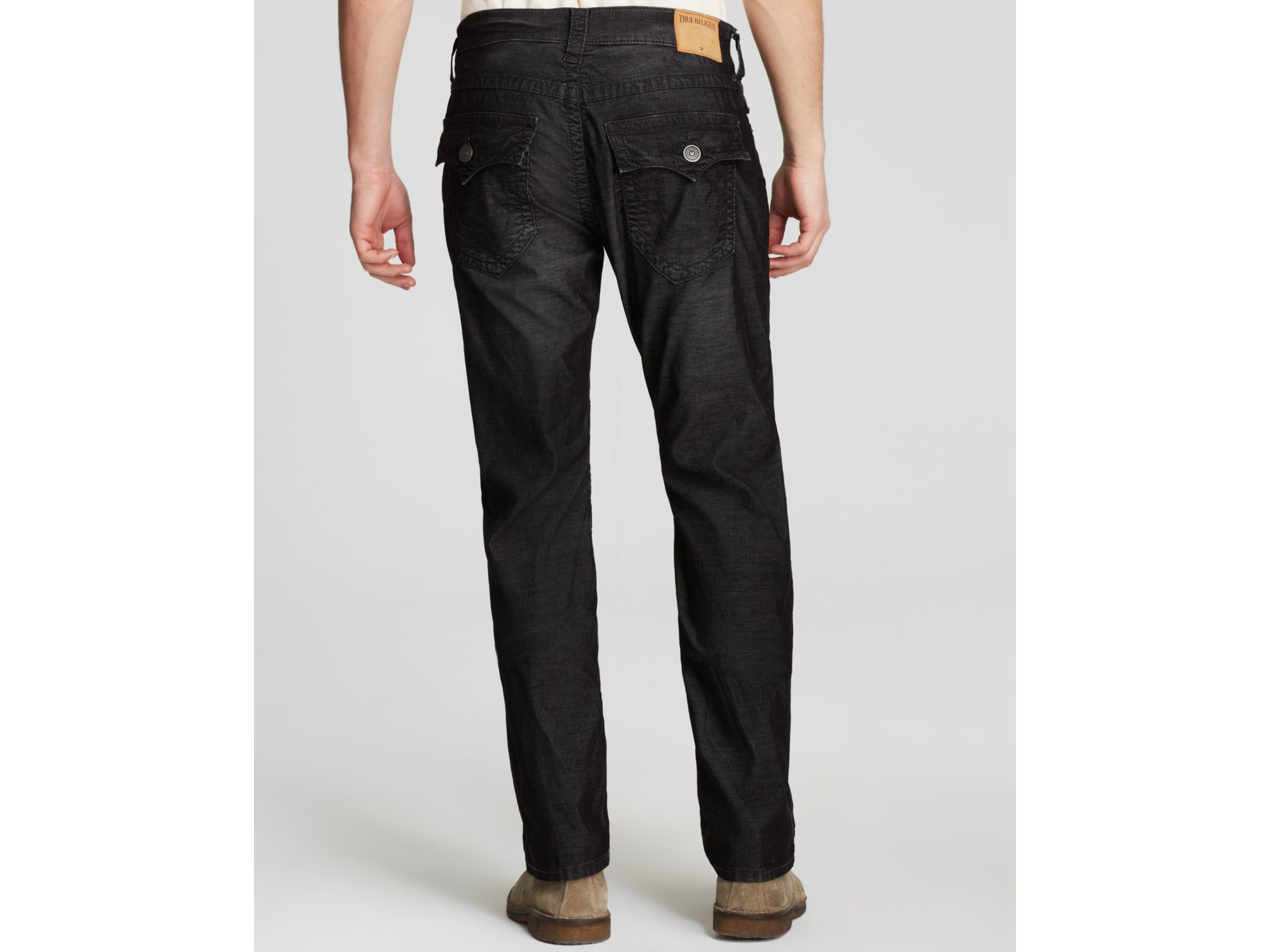 Lyst - True Religion Jeans - Ricky Relaxed Fit Cords in ...