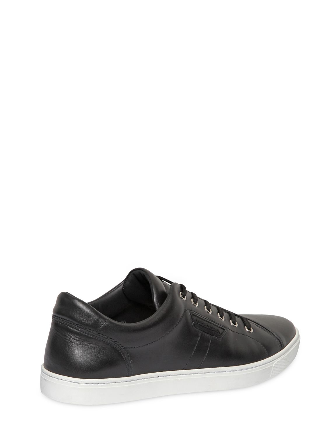 Dolce & GabbanaLONDON NAPPA LEATHER SNEAKERS TQ7xqSnl