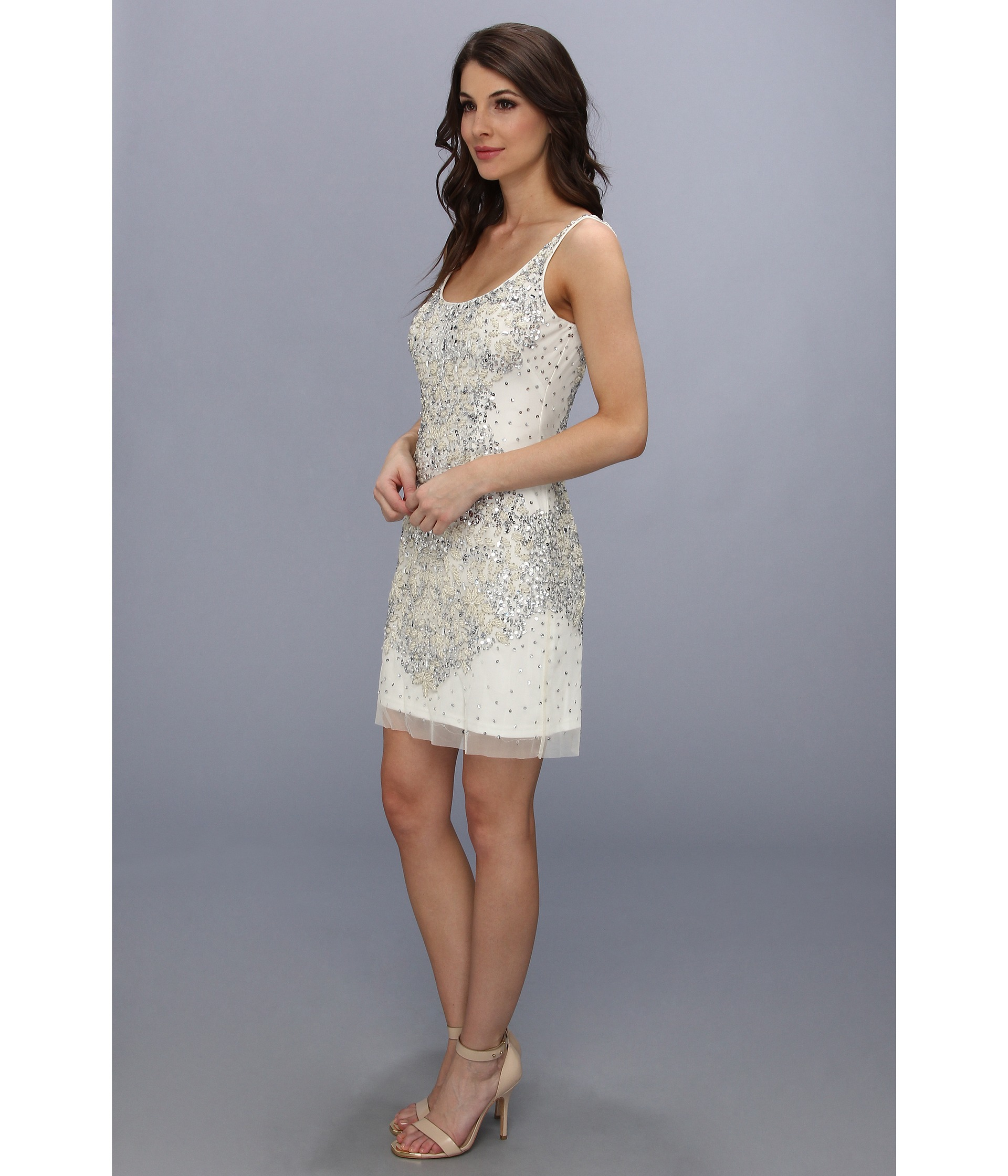 Adrianna Papell Ivory Dresses – fashion dresses