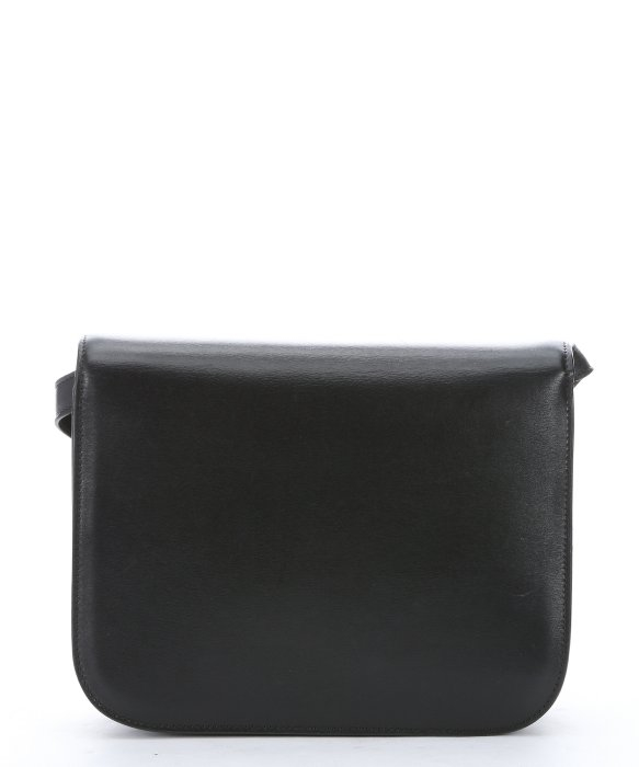 C¨¦line Black Leather Medium \u0026#39;classic Box\u0026#39; Shoulder Bag in Black | Lyst