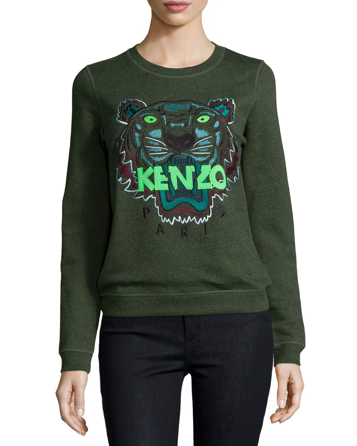 Lyst - KENZO Iconic Tiger Cotton Pullover Sweatshirt 617c4982a6