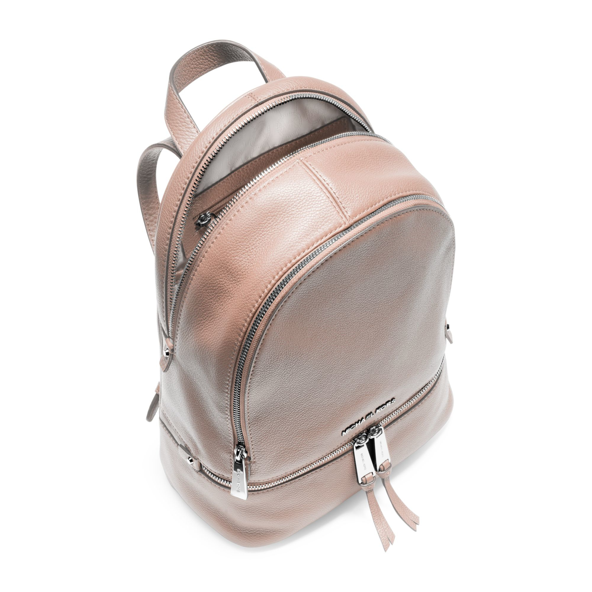a9e45a2512e1 ... netherlands michael kors backpack michael kors small rhea zip studded  backpack michael kors rhea extra small