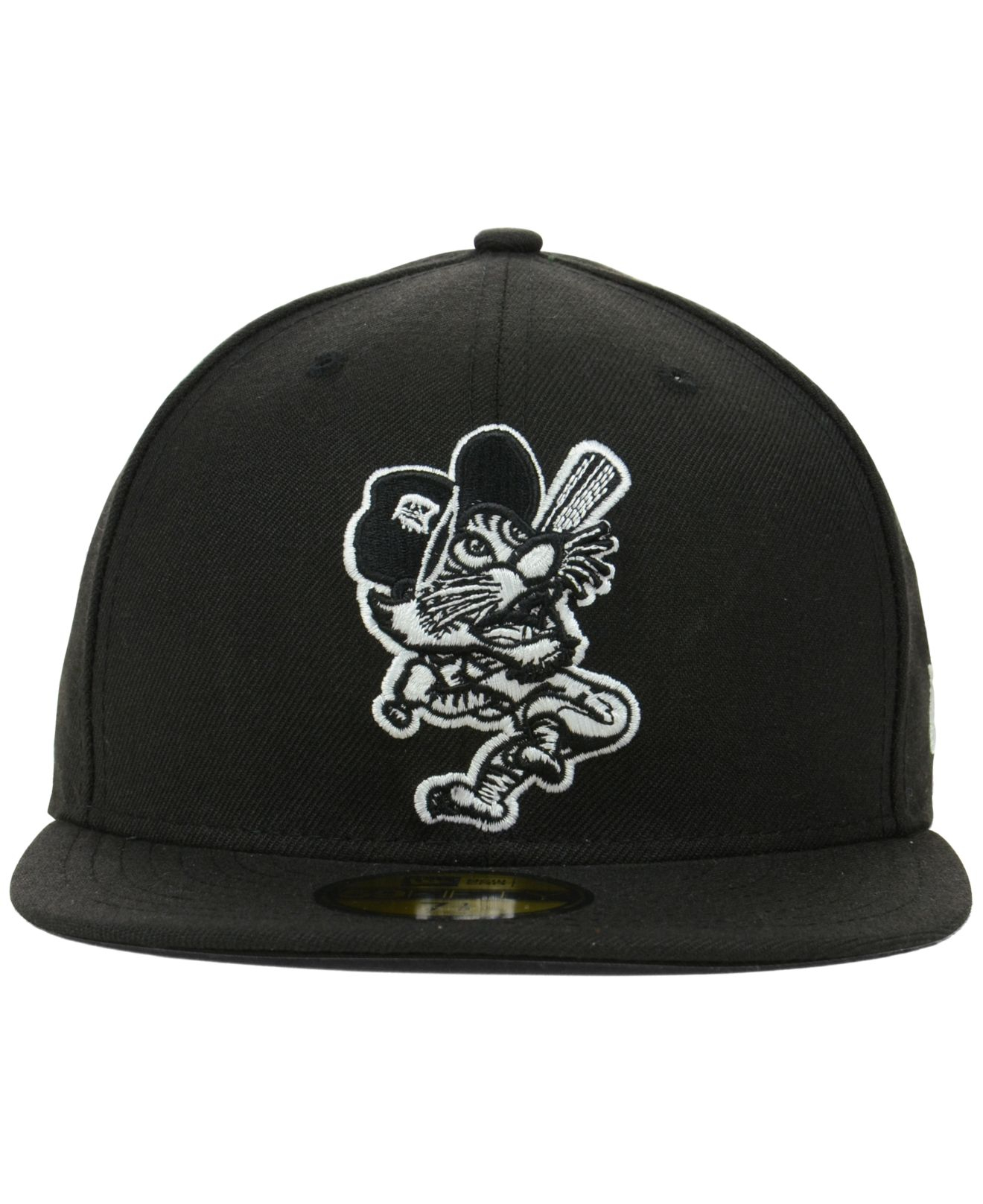 differently b7607 65378 ... sweden lyst ktz detroit tigers mlb black and white fashion 59fifty cap  in ac347 fda40