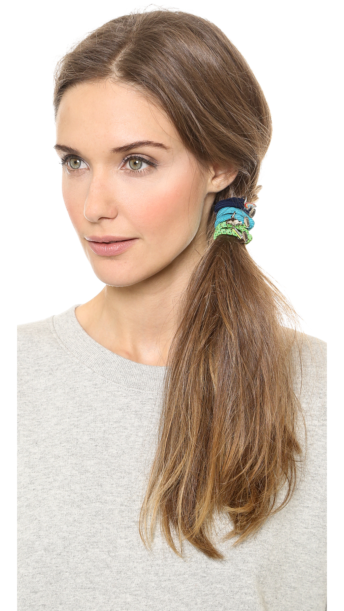 Lyst Marc By Marc Jacobs Weather Girl Pony Hair Ties