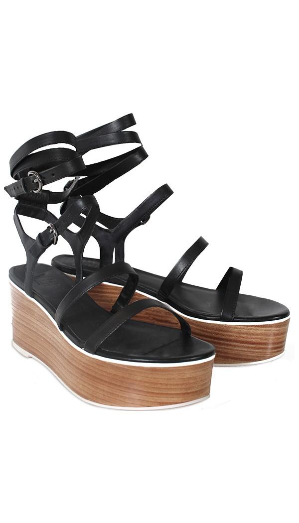483bdbea5ca4 Lyst - Tibi Aiko Sandals in Natural