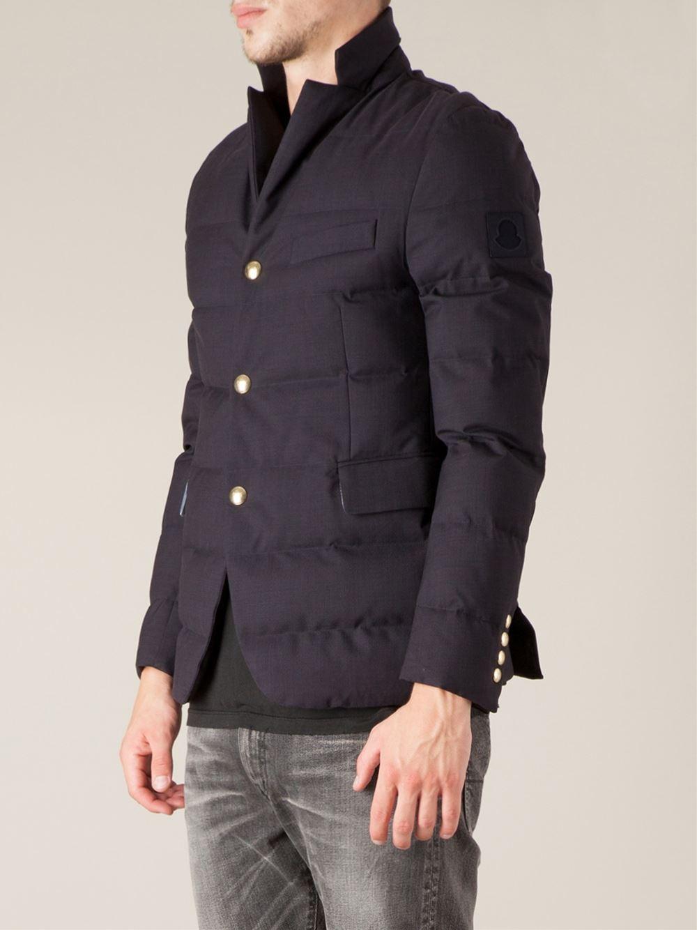 moncler gamme bleu quilted jacket herren. Black Bedroom Furniture Sets. Home Design Ideas