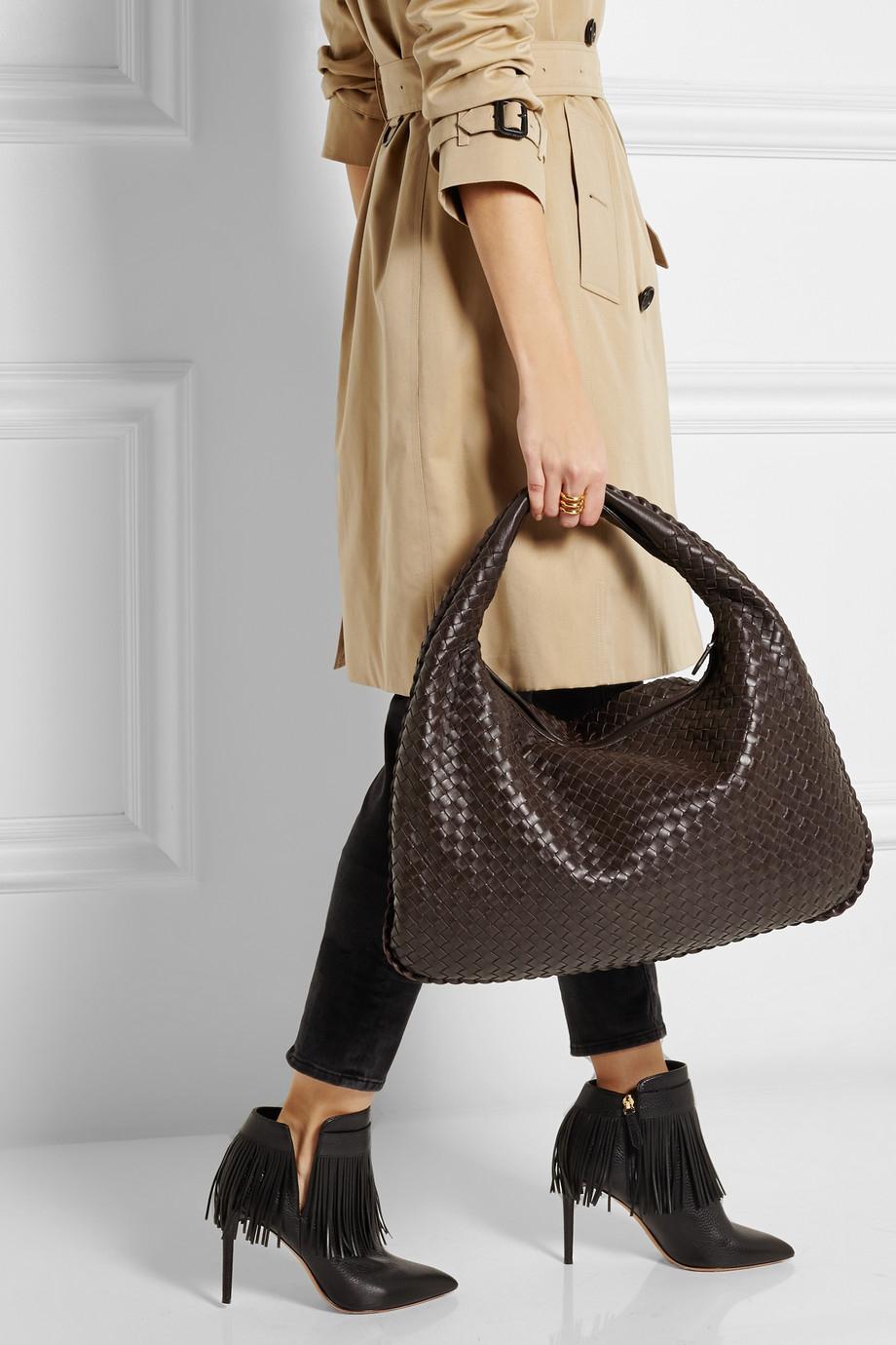 Bottega Veneta Large Veneta Intrecciato Leather Shoulder Bag in ... c9f1093070