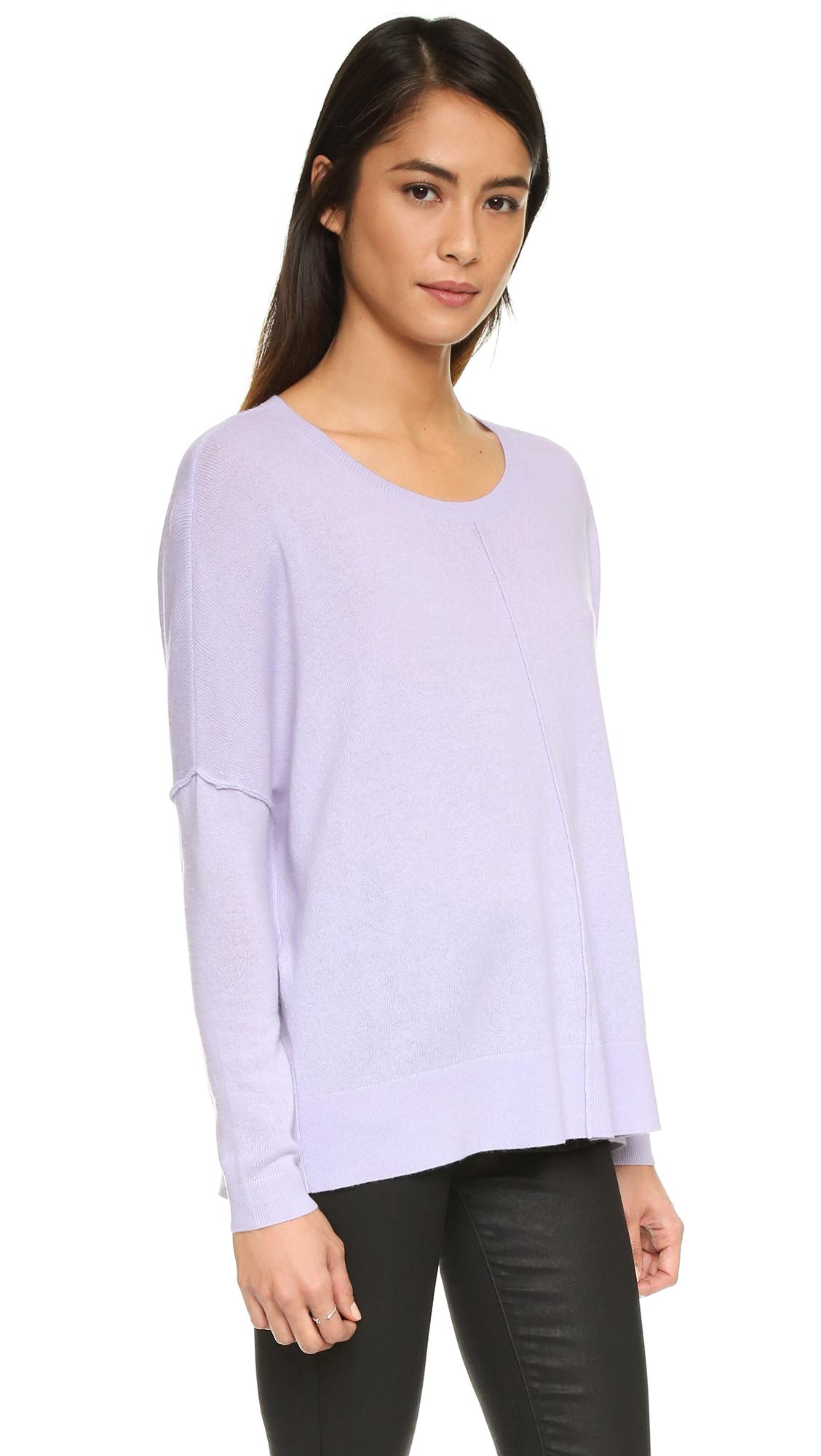 Joie Narcisse Sweater in Purple | Lyst