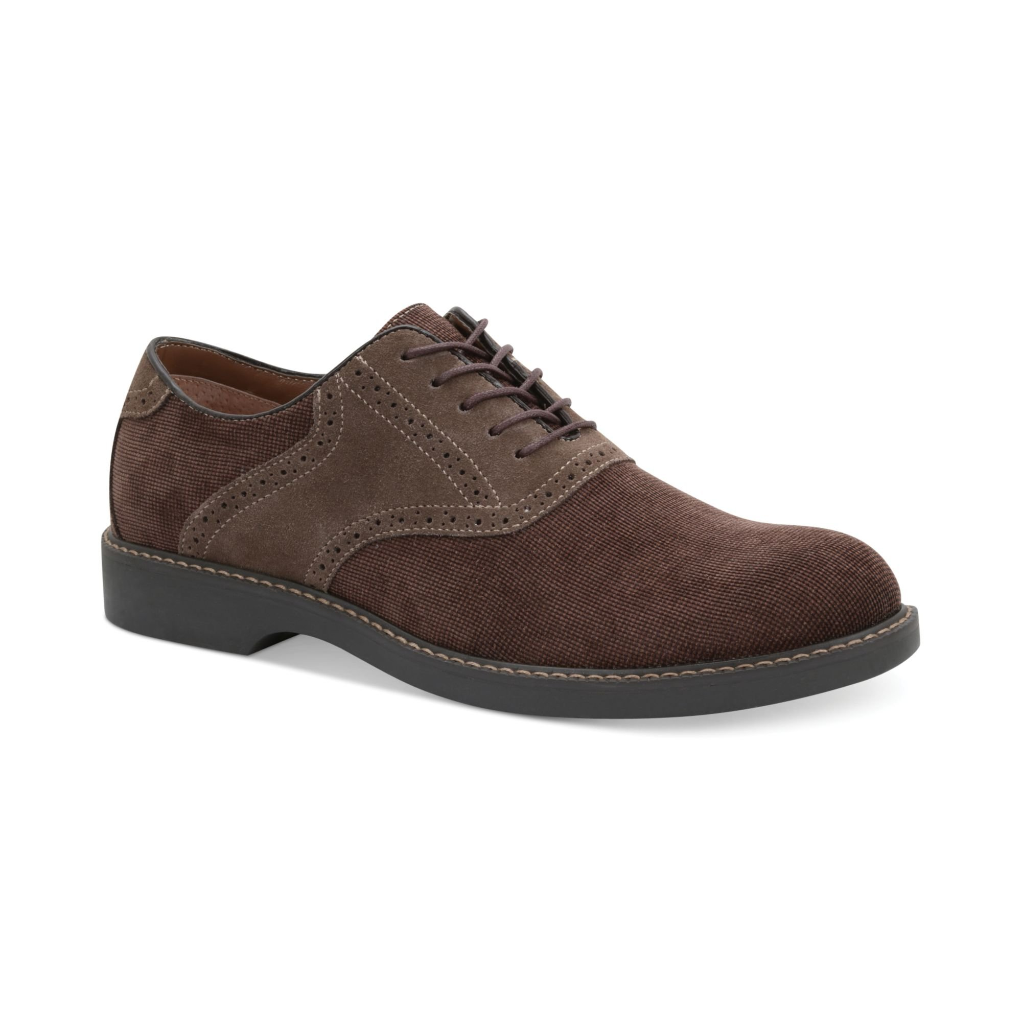 bass pomona saddle shoes in brown for new brown
