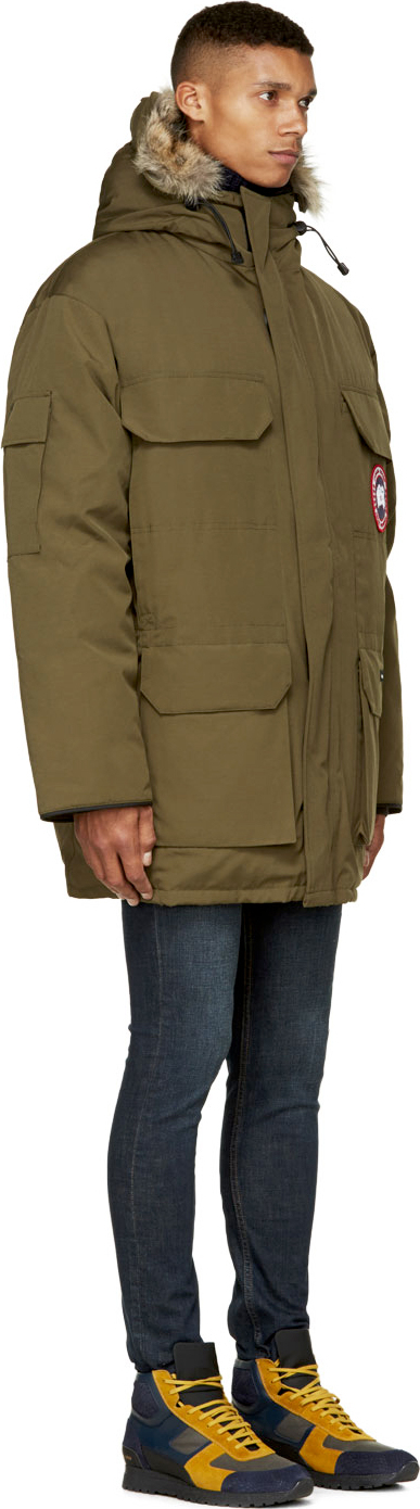 Canada Goose vest outlet store - Canada goose Olive Green Expidition Parka in Green for Men (olive ...