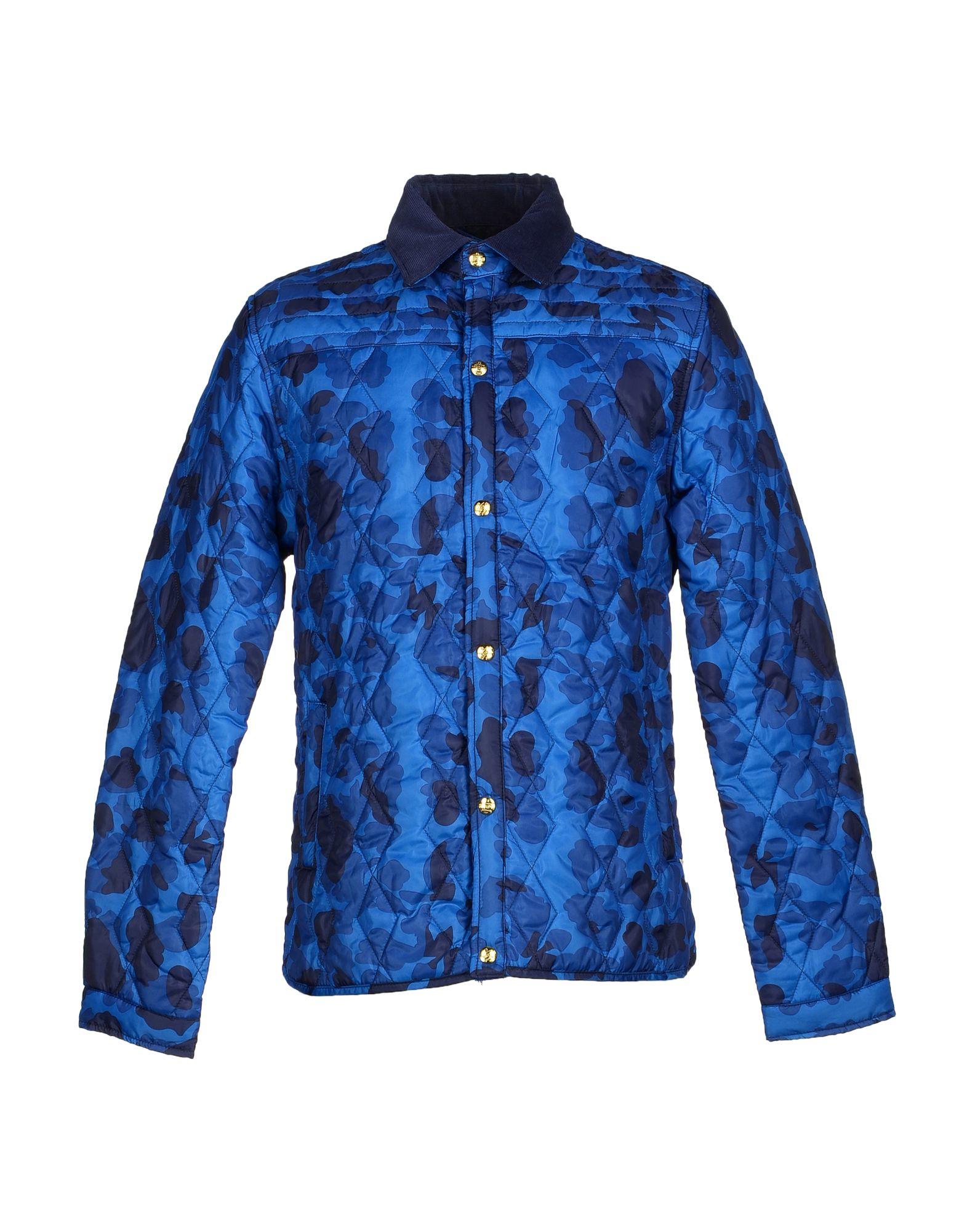 scotch soda jacket in blue for men lyst. Black Bedroom Furniture Sets. Home Design Ideas