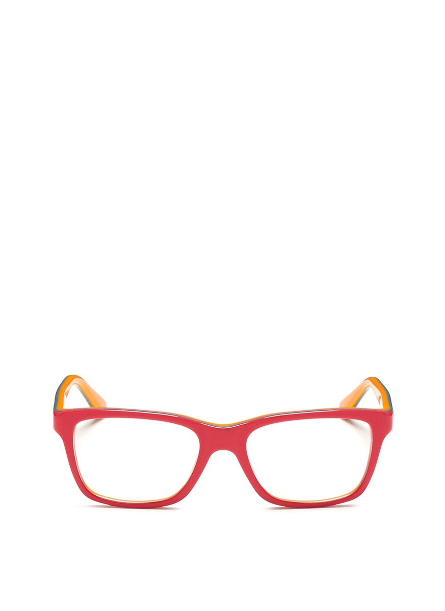 Ray-ban Square Frame Junior Acetate Optical Glasses in ...