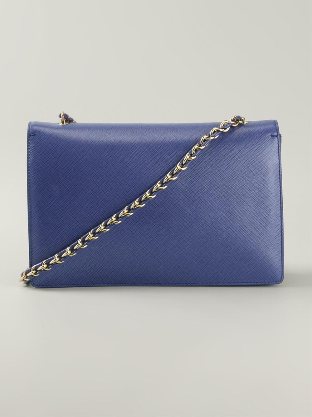 d4df34642e48 Lyst - Ferragamo  Ginny  Crossbody Bag in Blue