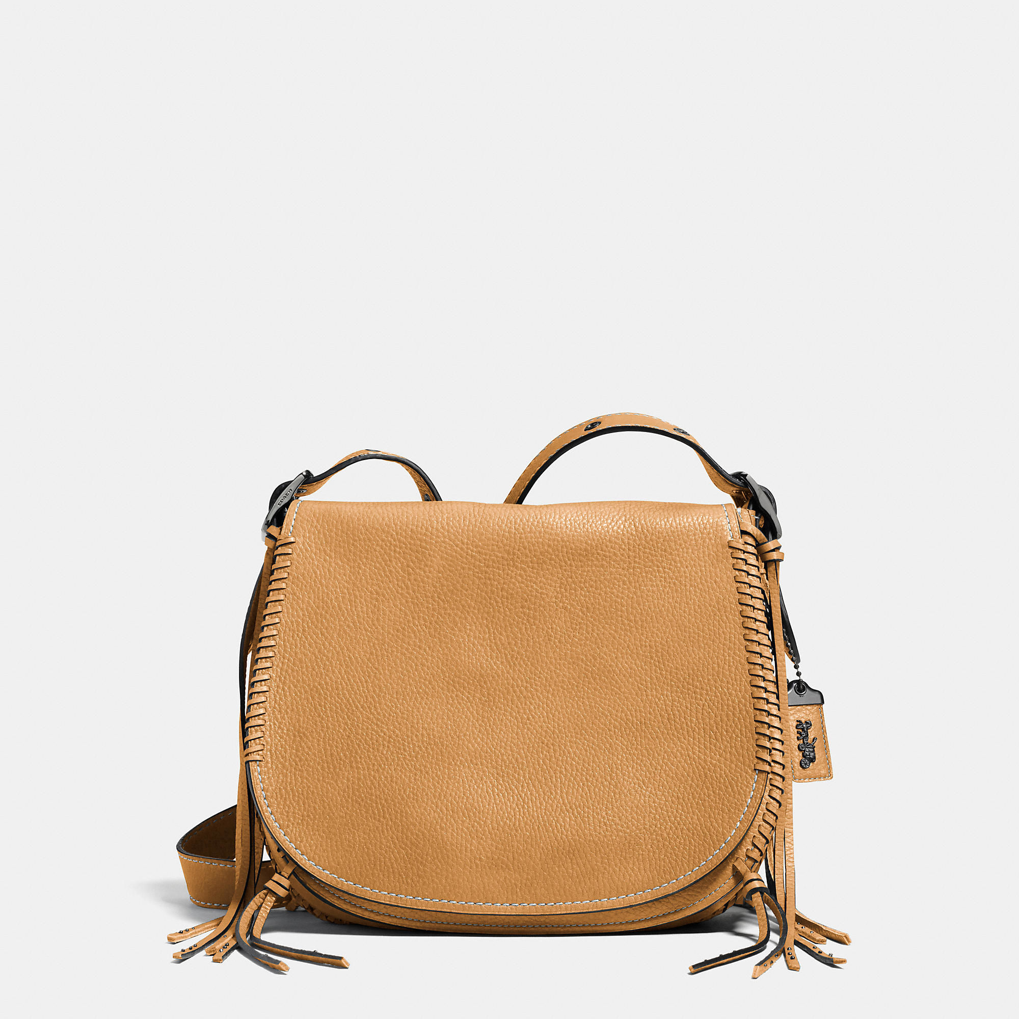Coach Whiplash Saddle Bag In Leather In Brown Lyst