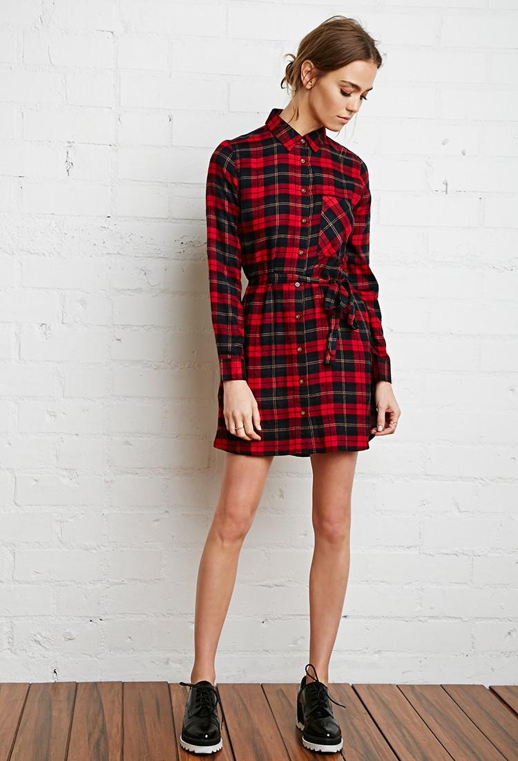 Flannel dresses 2017