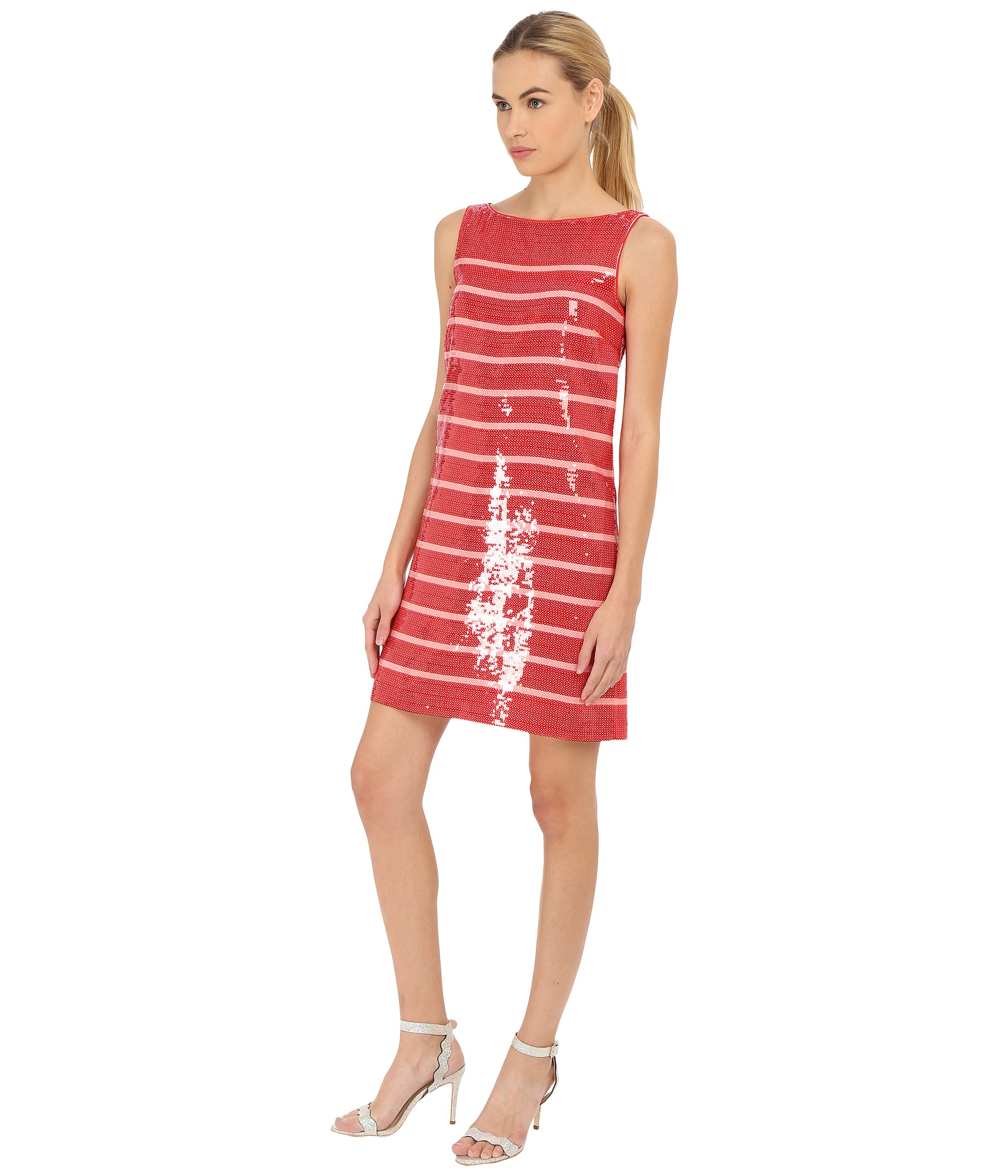 9118f12df2e9 Gallery. Previously sold at  Zappos Luxury · Women s Scoop Neck Dresses ...