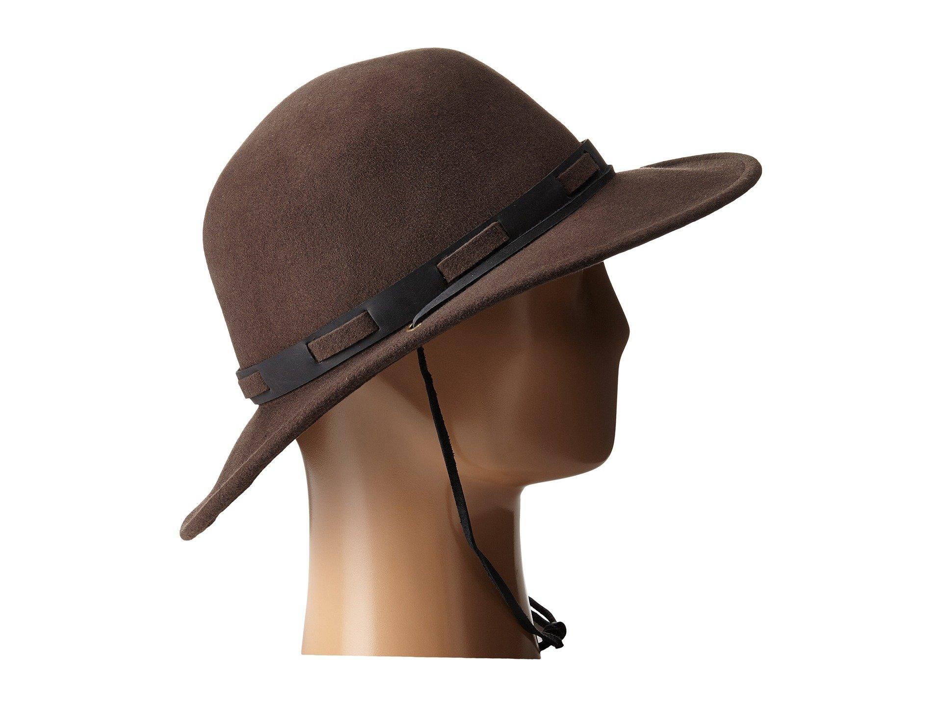 ... ireland lyst brixton steeler hat in purple bd82a 9be9b bbc625ade8b5