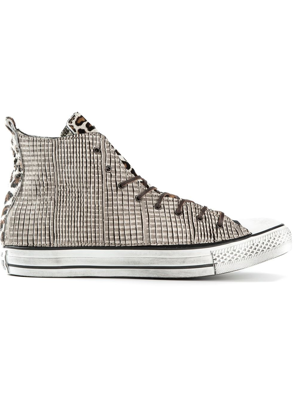 184b245c9d4a Lyst - Converse  Chuck Taylor All Star  Leopard Print Sneakers in ...