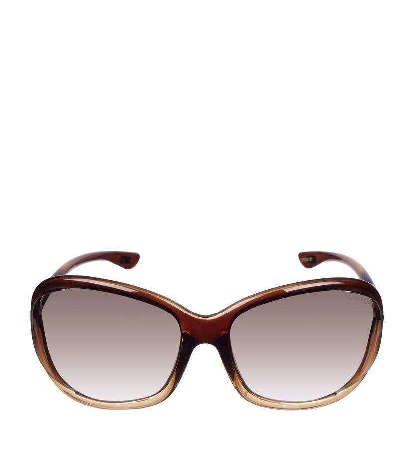 tom ford jennifer soft square sunglasses in brown lyst. Cars Review. Best American Auto & Cars Review