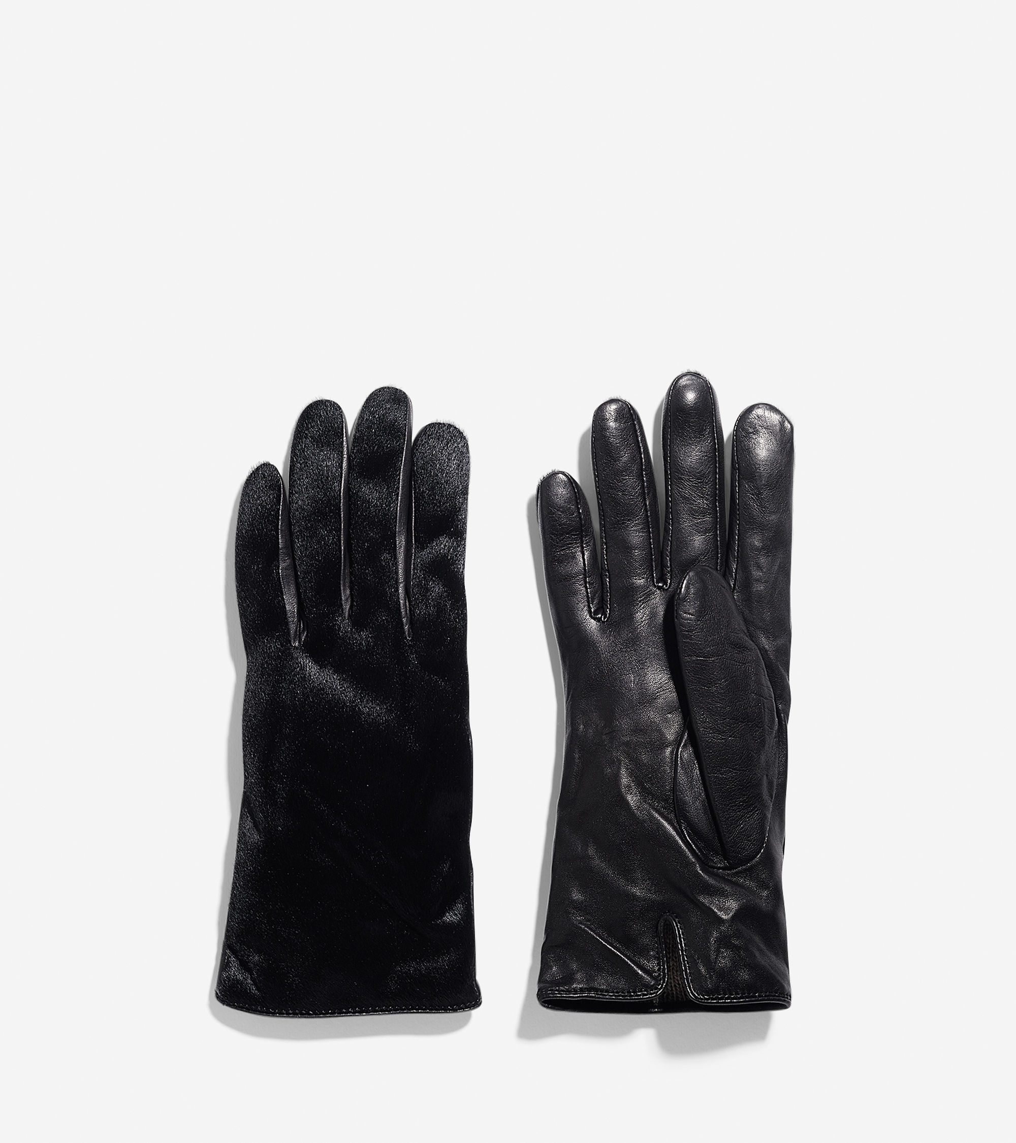 Cole haan black leather gloves - Gallery Leather Gloves