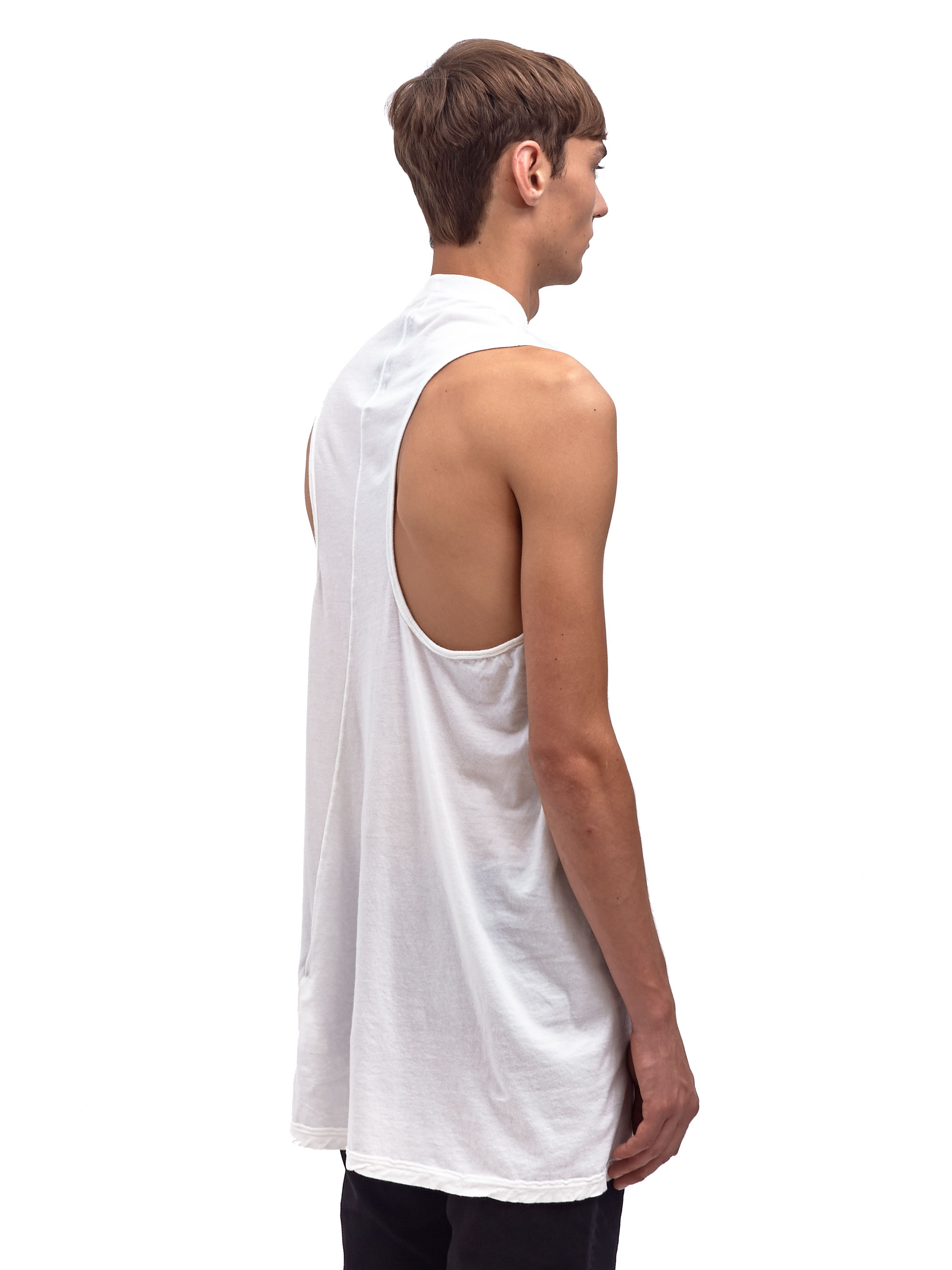 a4c4d6f5abc77 Lyst - DRKSHDW by Rick Owens Mens Tank in White for Men