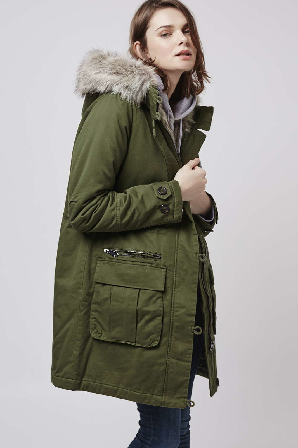 Long Green Parka Coats Fashion Women S Coat 2017