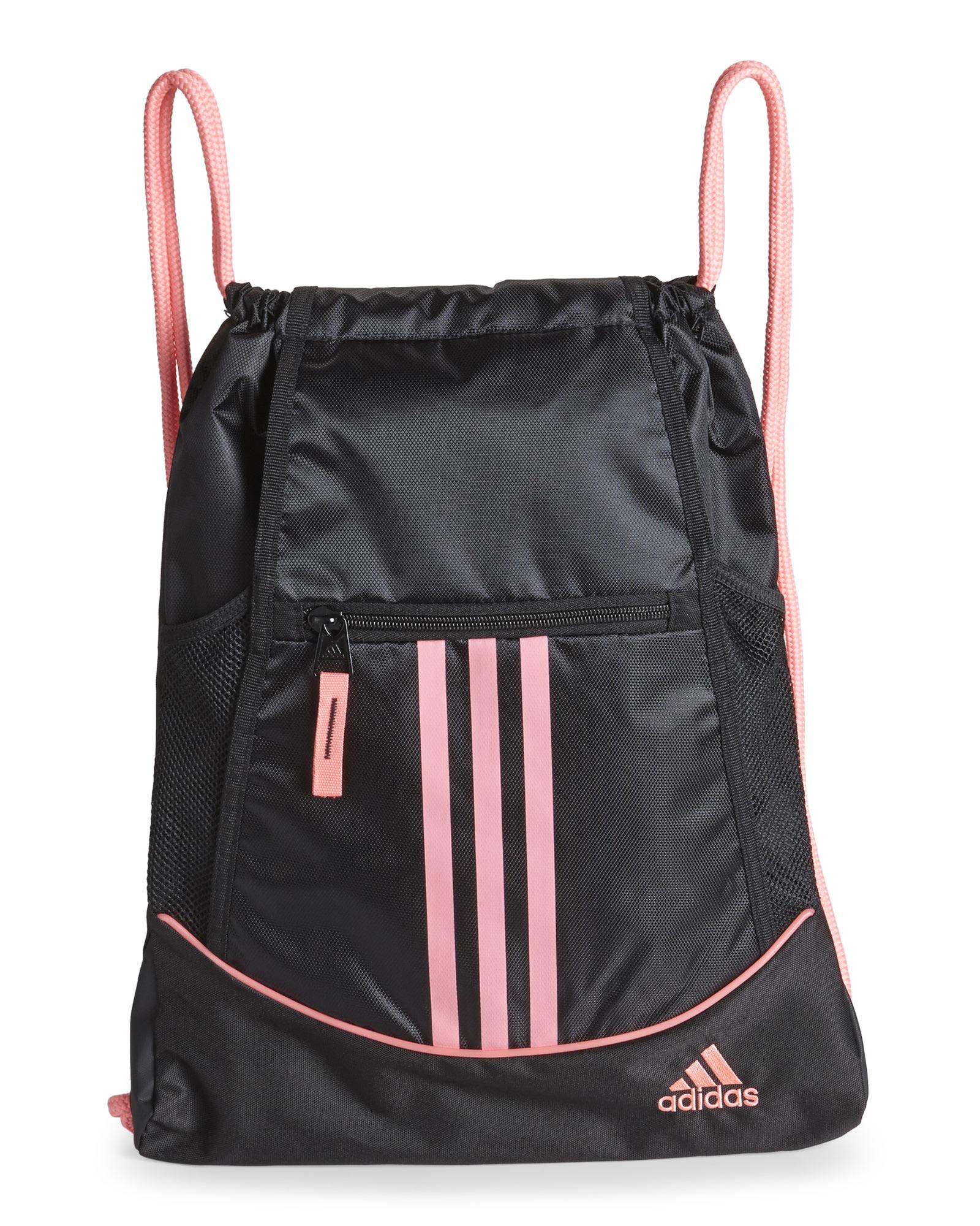 eec2da091394 ... Lyst - Adidas Black Pink Alliance Sack Pack in Black the best attitude  463fc bd2f6 ...