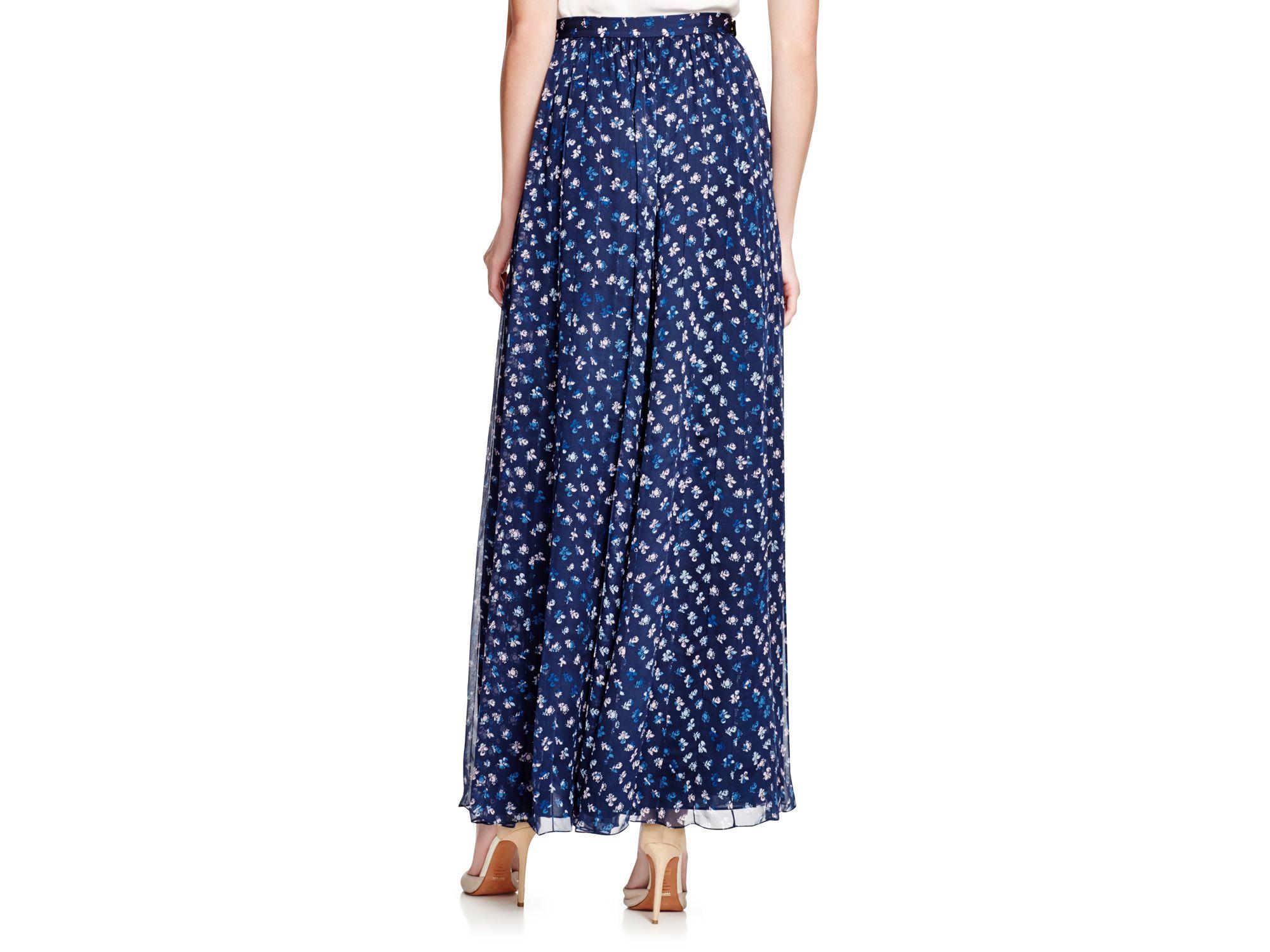 pleated floral skirt - Blue Diane Von Fürstenberg Real 2IyrLLqyU