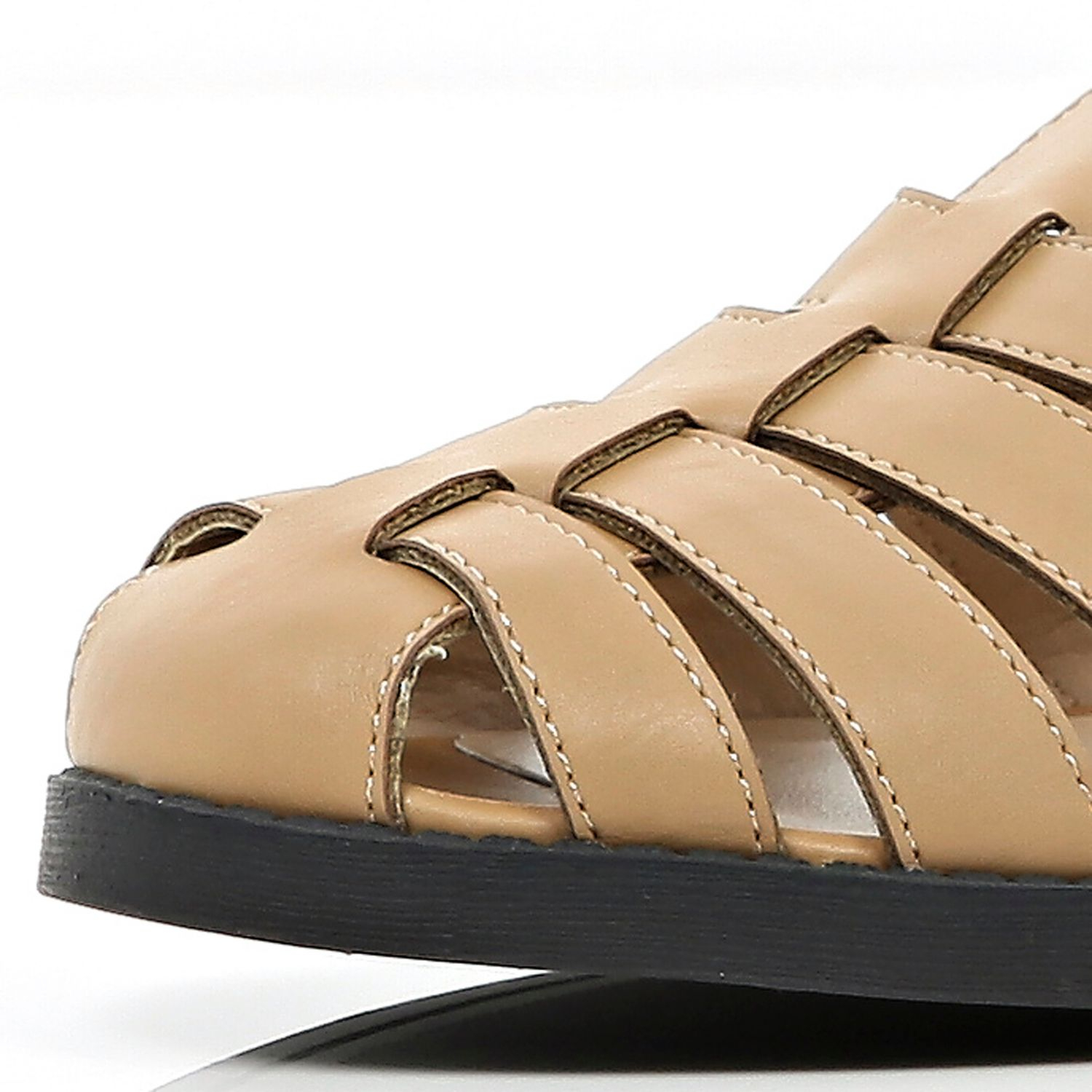 River Island Tan Strappy Gladiator Sandals In Brown Lyst