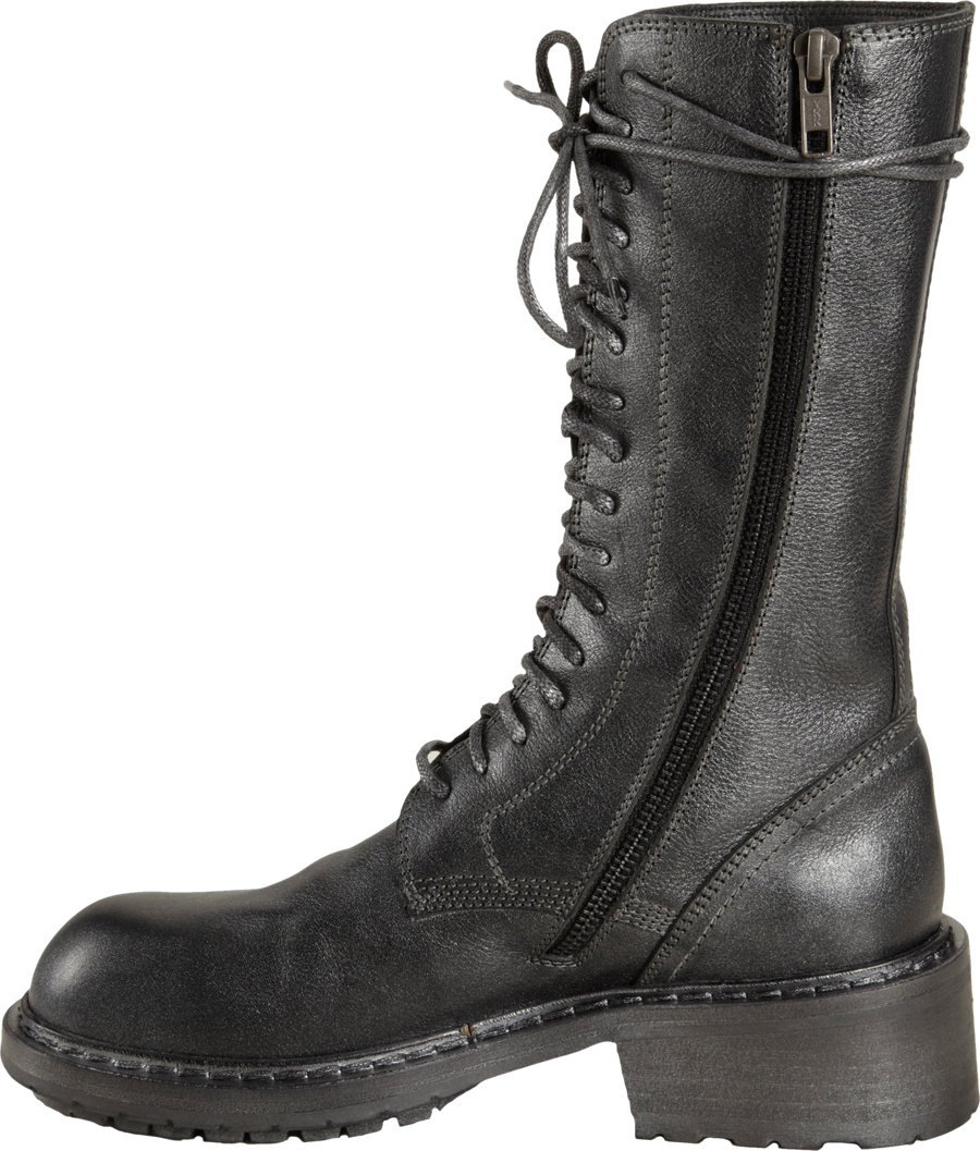 Ann Demeulemeester Distressed Mid-Calf Boots for cheap cheap online sale order great deals online free shipping cheap iemcEtMCoN