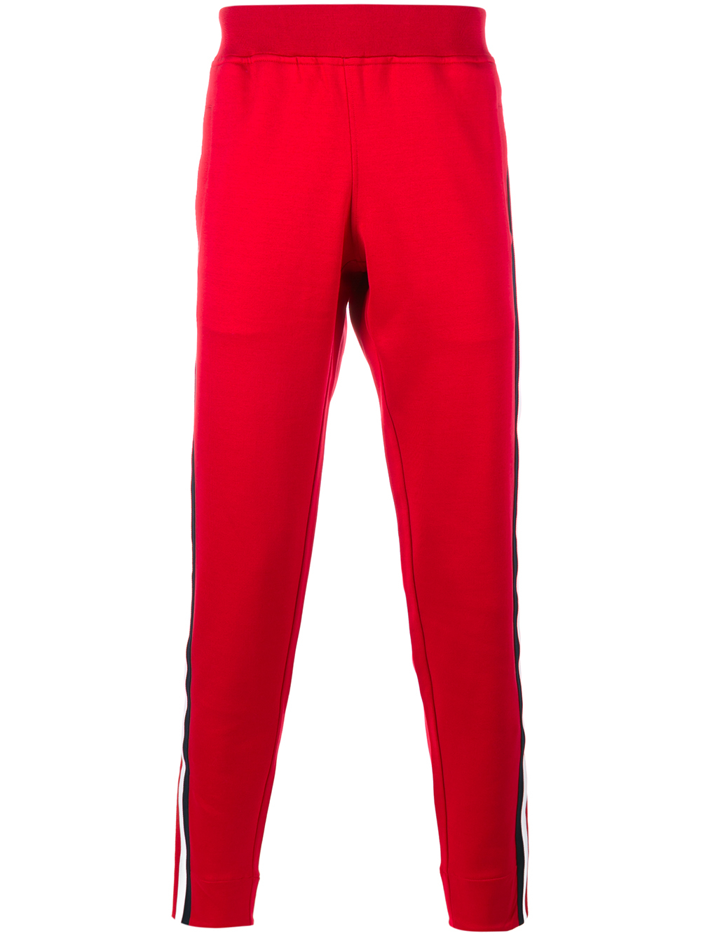 Lyst Gucci Striped Panel Track Pants In Red For Men