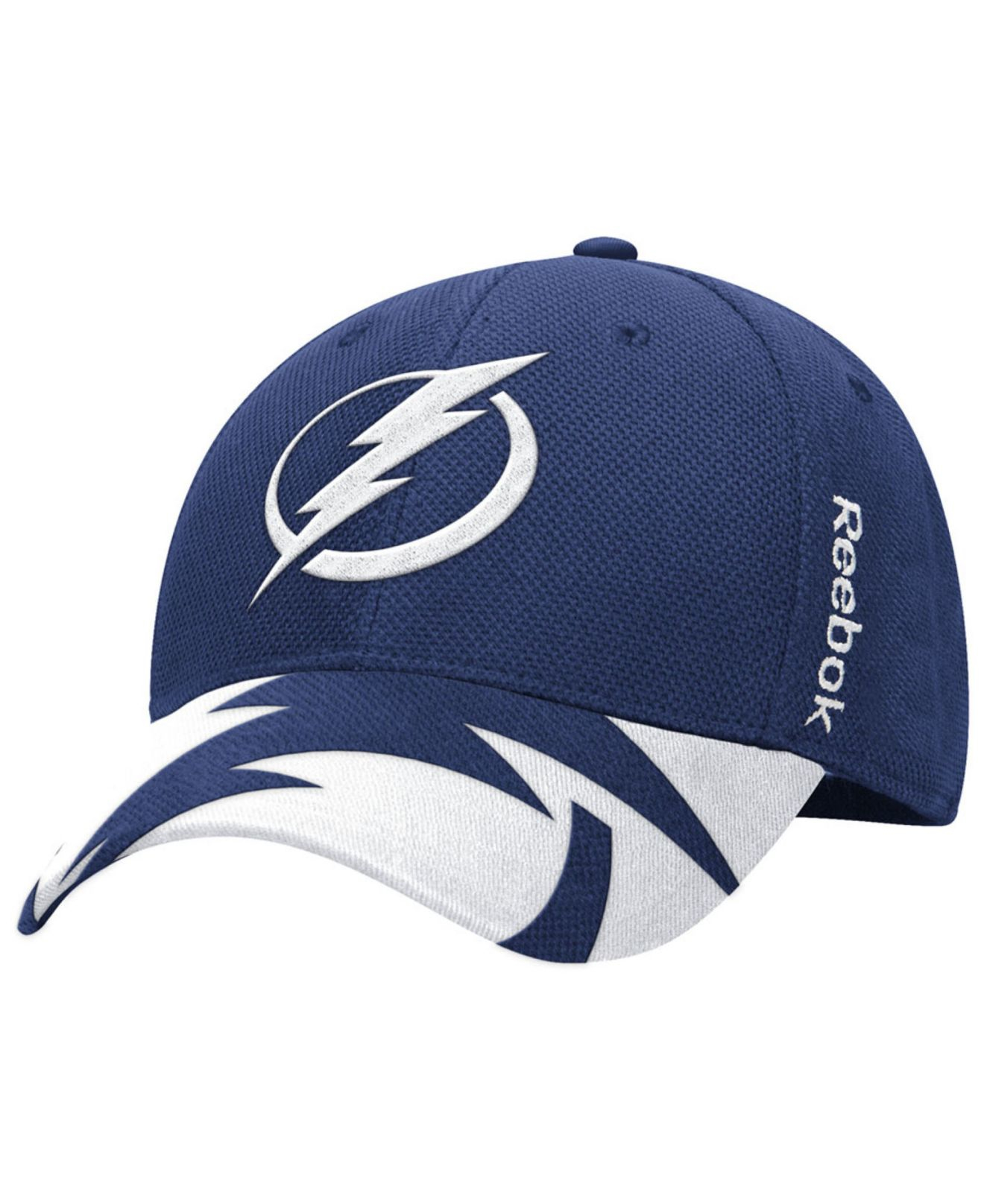 2a5416a4f3b Lyst - Reebok Tampa Bay Lightning Nhl 2015 Draft Flex Cap in White ...