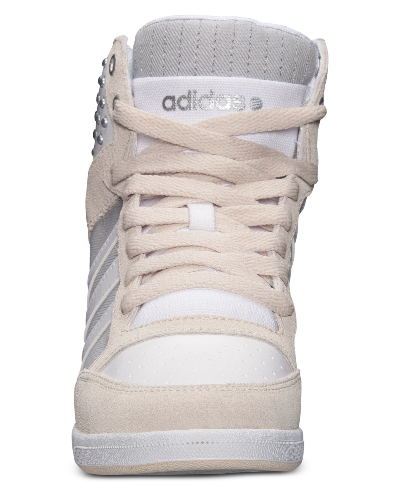 f923886c9 ... france lyst adidas women s weneo super wedge casual sneakers from  finish. adidas neo label