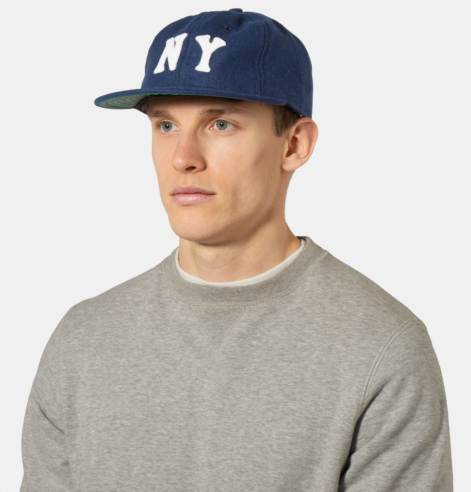 Ebbets Field Flannels New York Black Yankees 1936 Wool-broadcloth Baseball  Cap in Blue for Men - Lyst ad19e5600e3