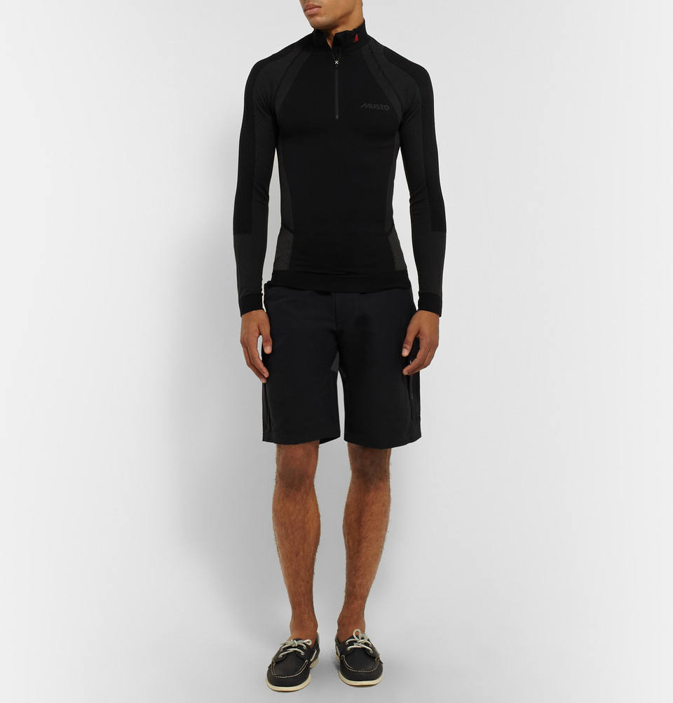 Musto sailing Evolution Waterproof Shorts in Black for Men ...