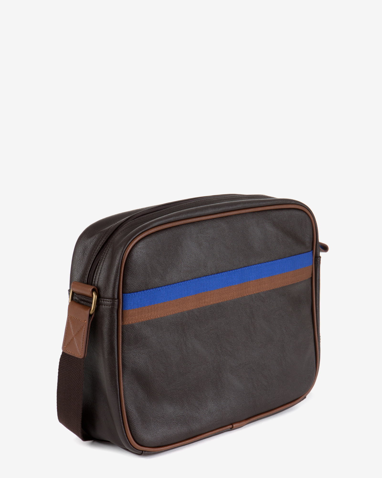 d3d29927f91e4 Lyst - Ted Baker Cross Body Document Bag in Brown for Men
