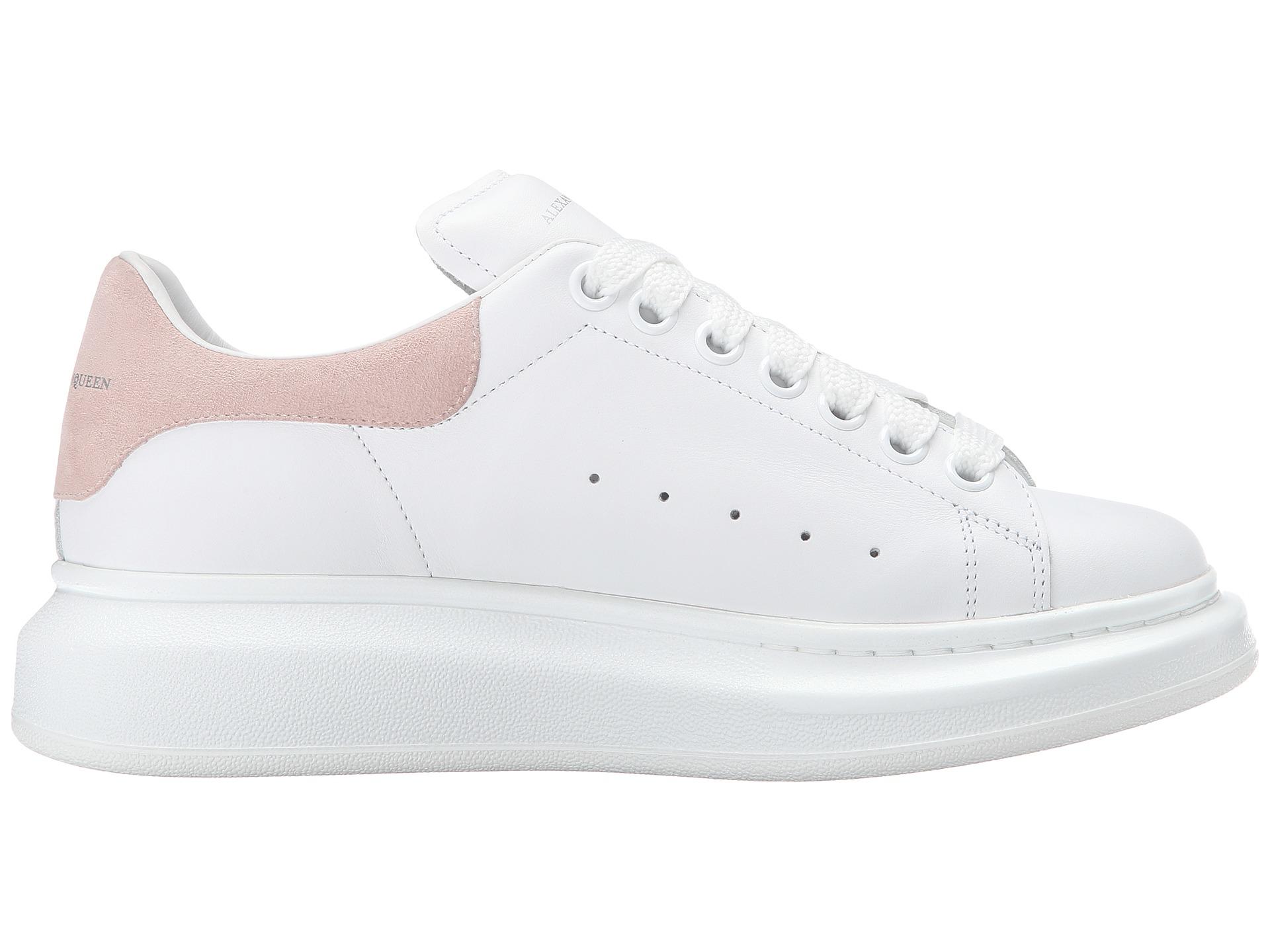 White gomma Pelle Mcqueen Sneaker Lyst In Alexander S W8RnzU