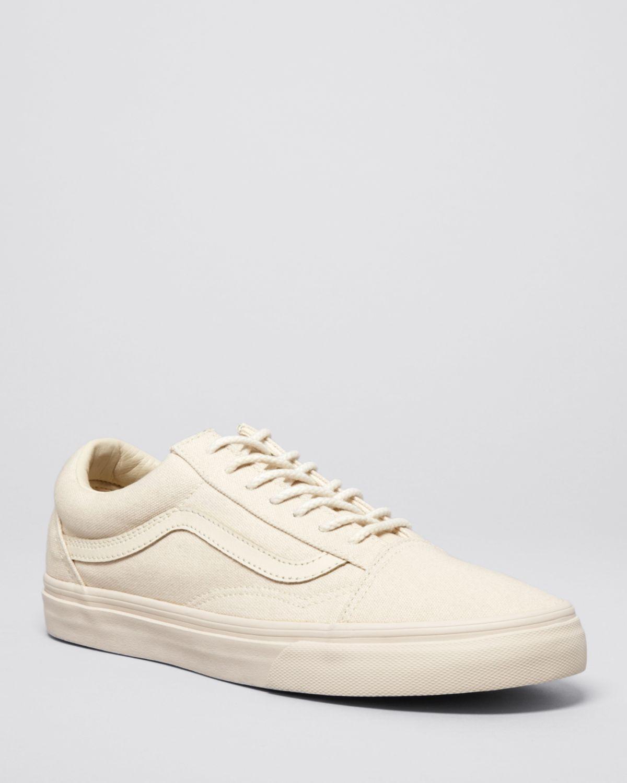 vans beige low