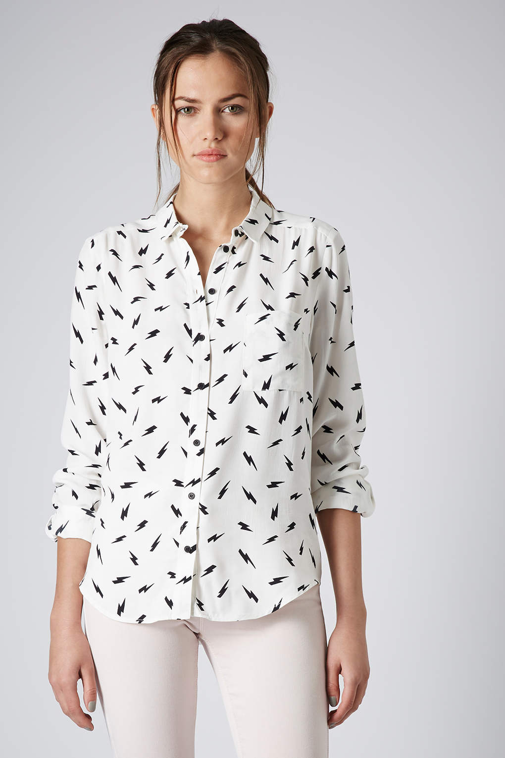 Topshop Womens 'Lightning in the City' T-Shirt - Outlet Cheapest Price Genuine Cheap Online EIMMoYWr