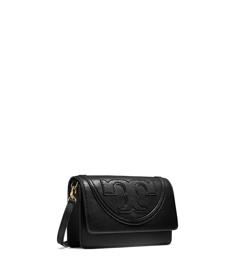 4a53edfa0183 Lyst - Tory Burch All-t Small Combo Cross-body in Black