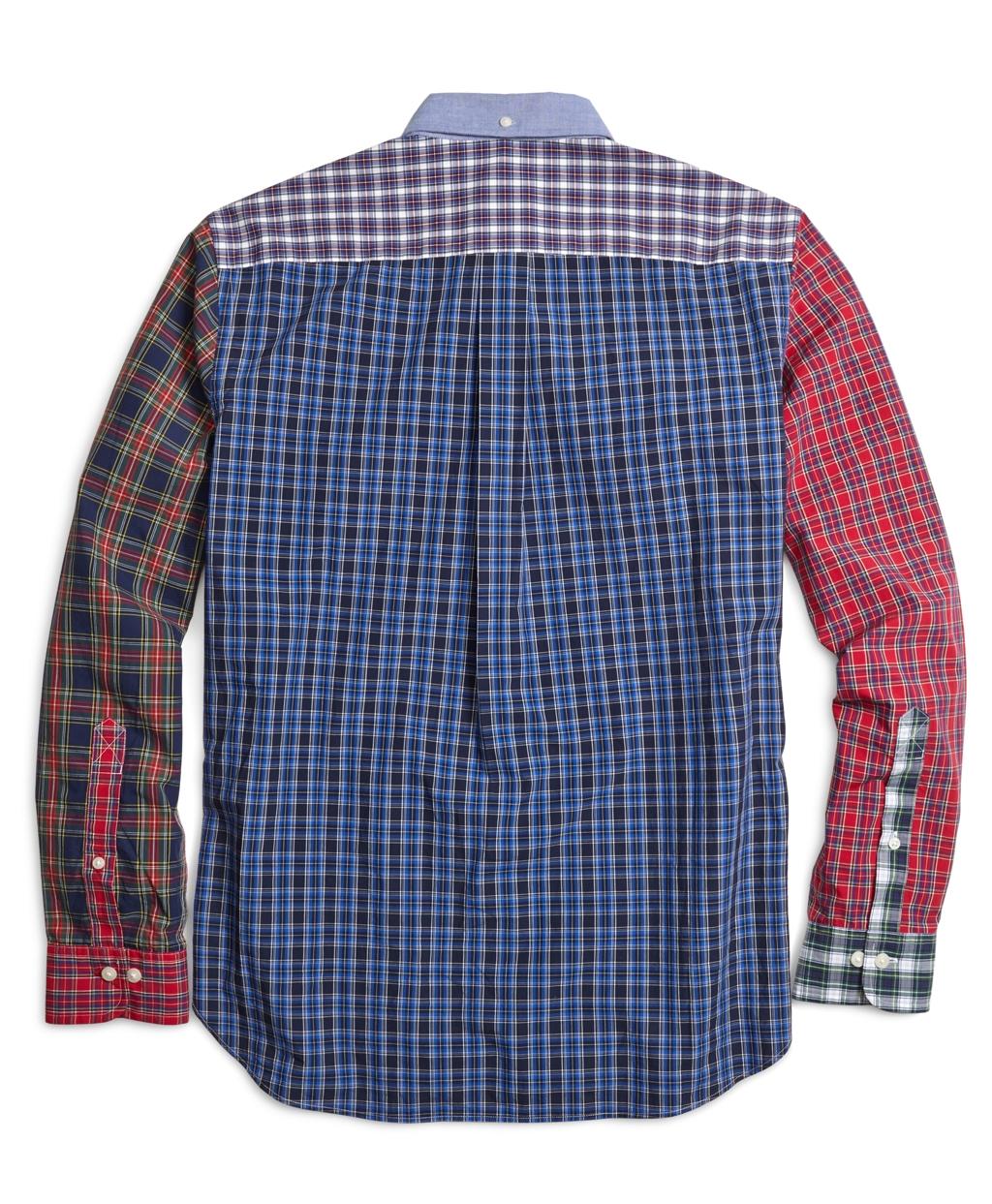 Lyst brooks brothers tartan fun sport shirt for men for Brooks brothers sports shirts