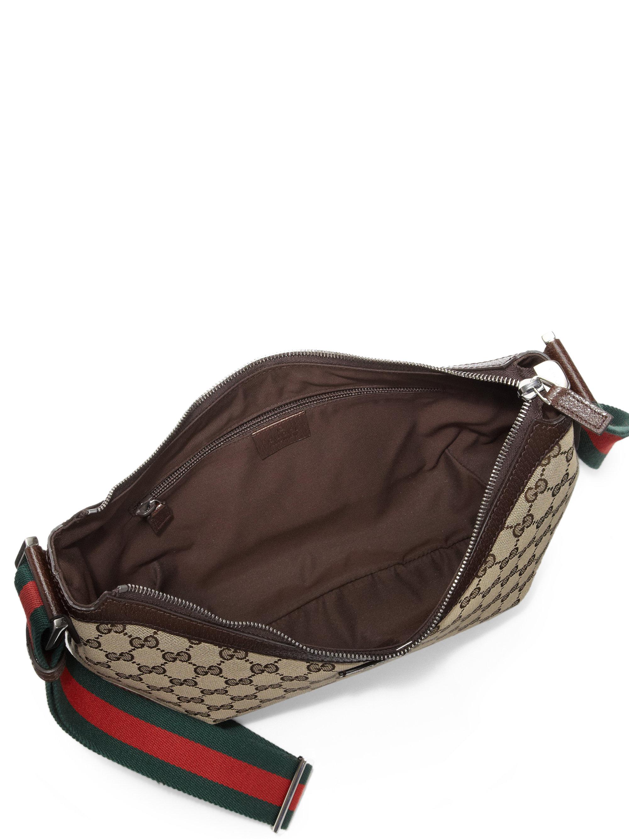 1f2c04a6850 Lyst - Gucci Original Gg Canvas Messenger Bag in Brown
